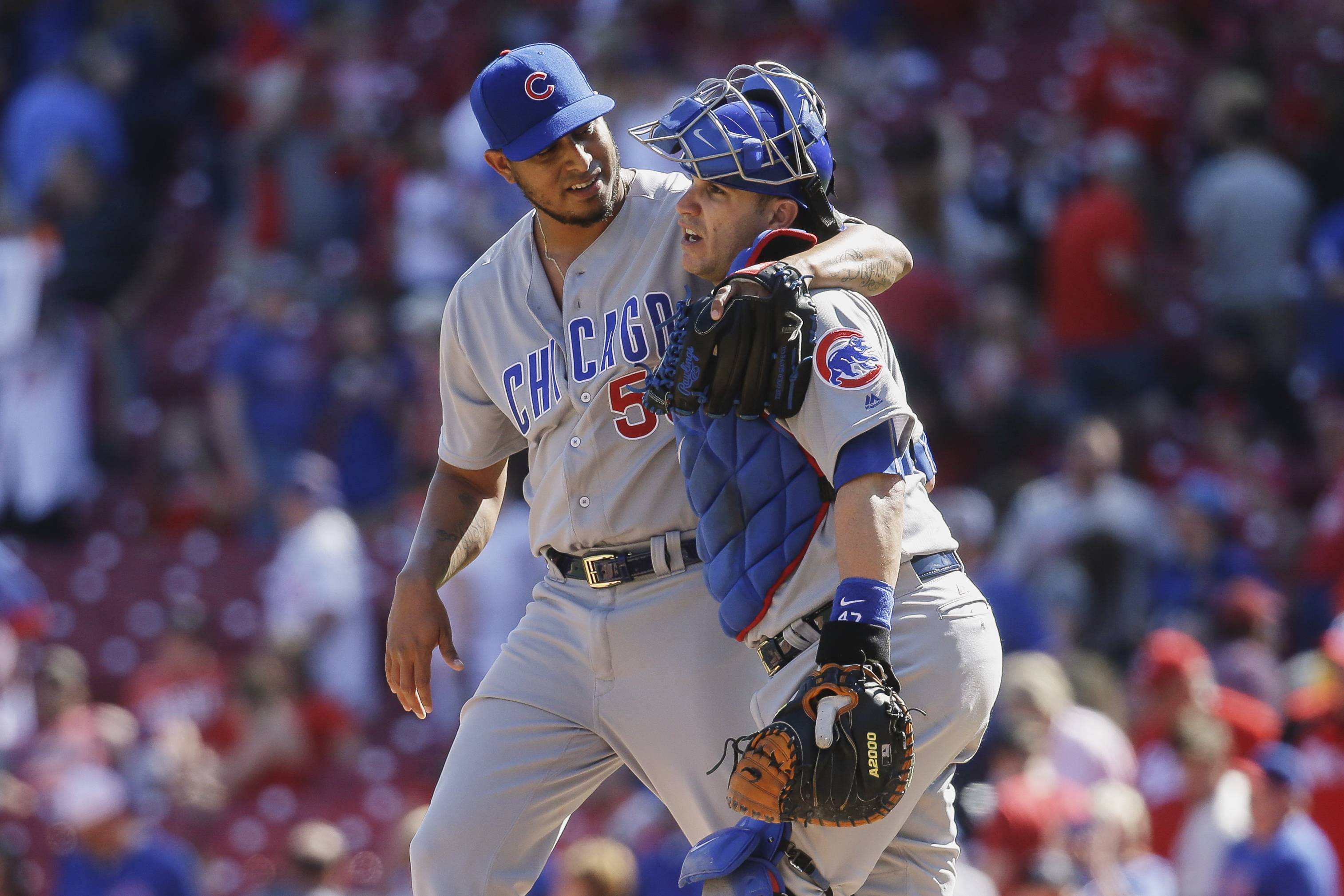 Chicago Cubs Montero to DL; Bryant rolls ankle