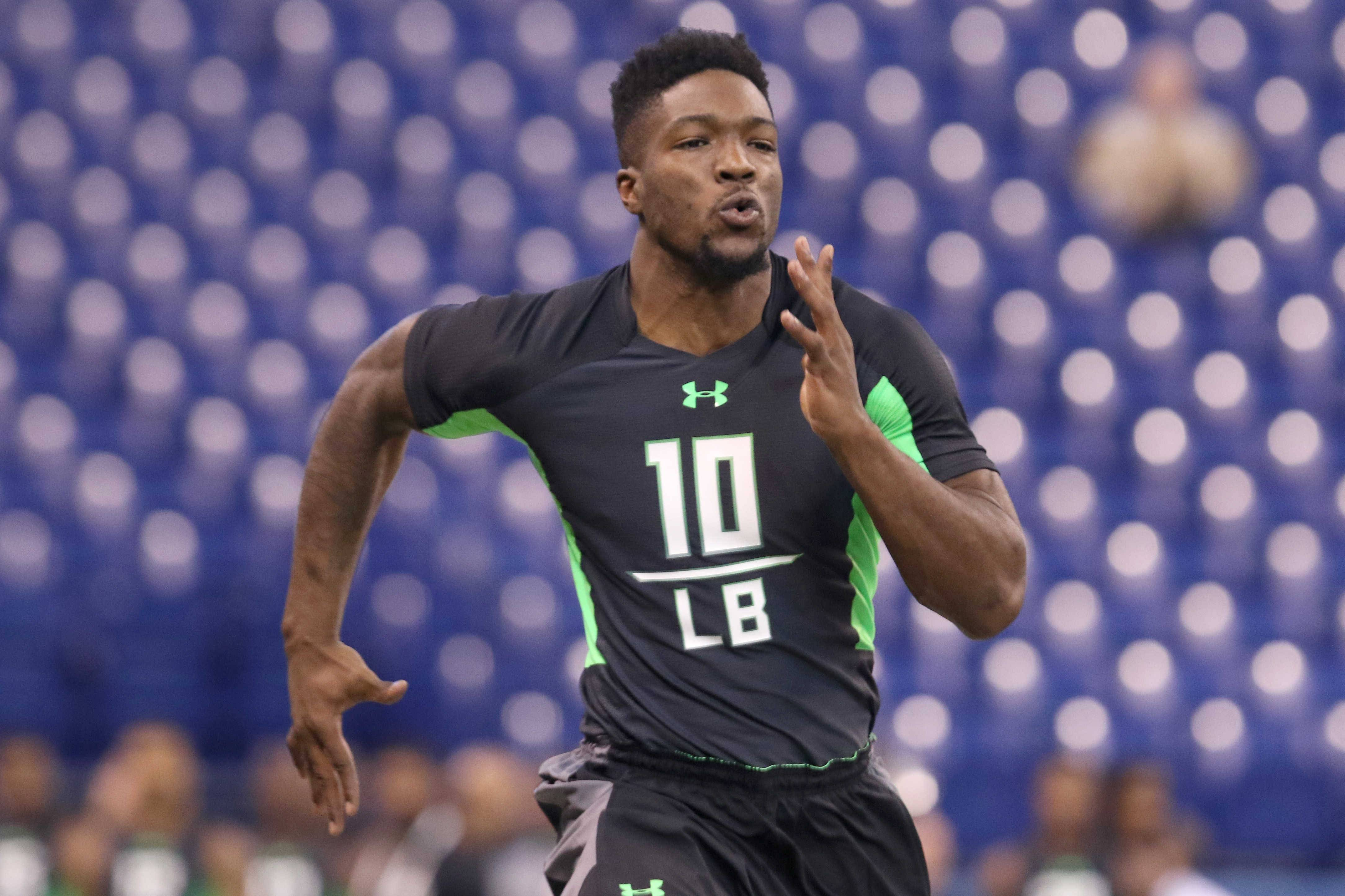 Associated Press Bears first-round pick Leonard Floyd is a small-town guy with big-time pass-rush ability.