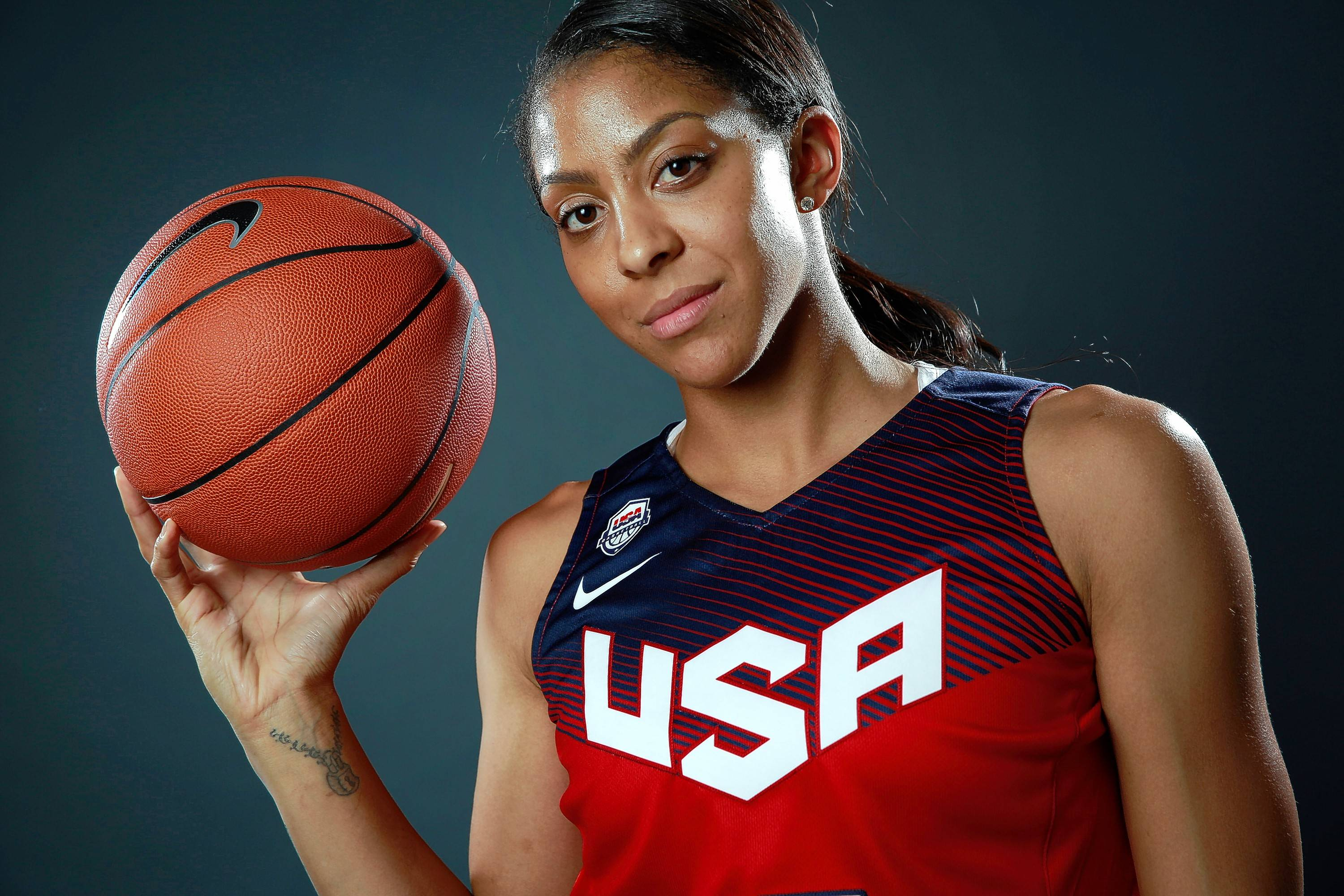 Naperville native and WNBA star Candace Parker was shocked and disappointed when she learned that she will not be on the U.S. women's basketball Olympic roster. The 30-year-old forward helped Team USA win the gold medal in the past two Olympics.