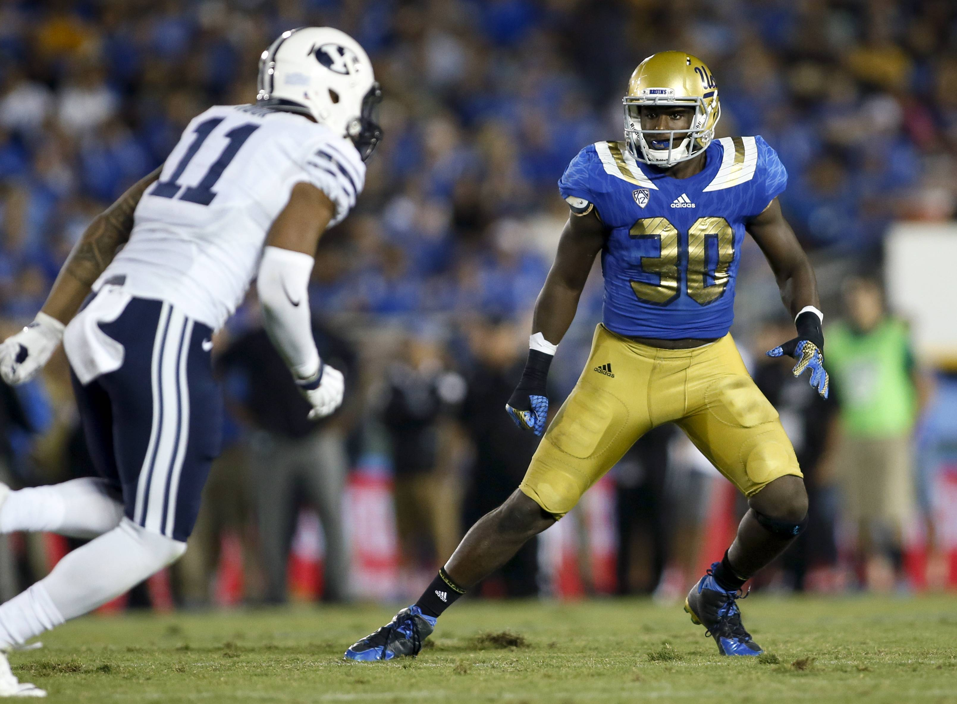 UCLA linebacker Myles Jack had a much less serious knee injury than Smith, but was not selected in the first round after being projected as a top-10 pick as recently as last week. Could the Bears snag him when the NFL Draft resumes tonight?