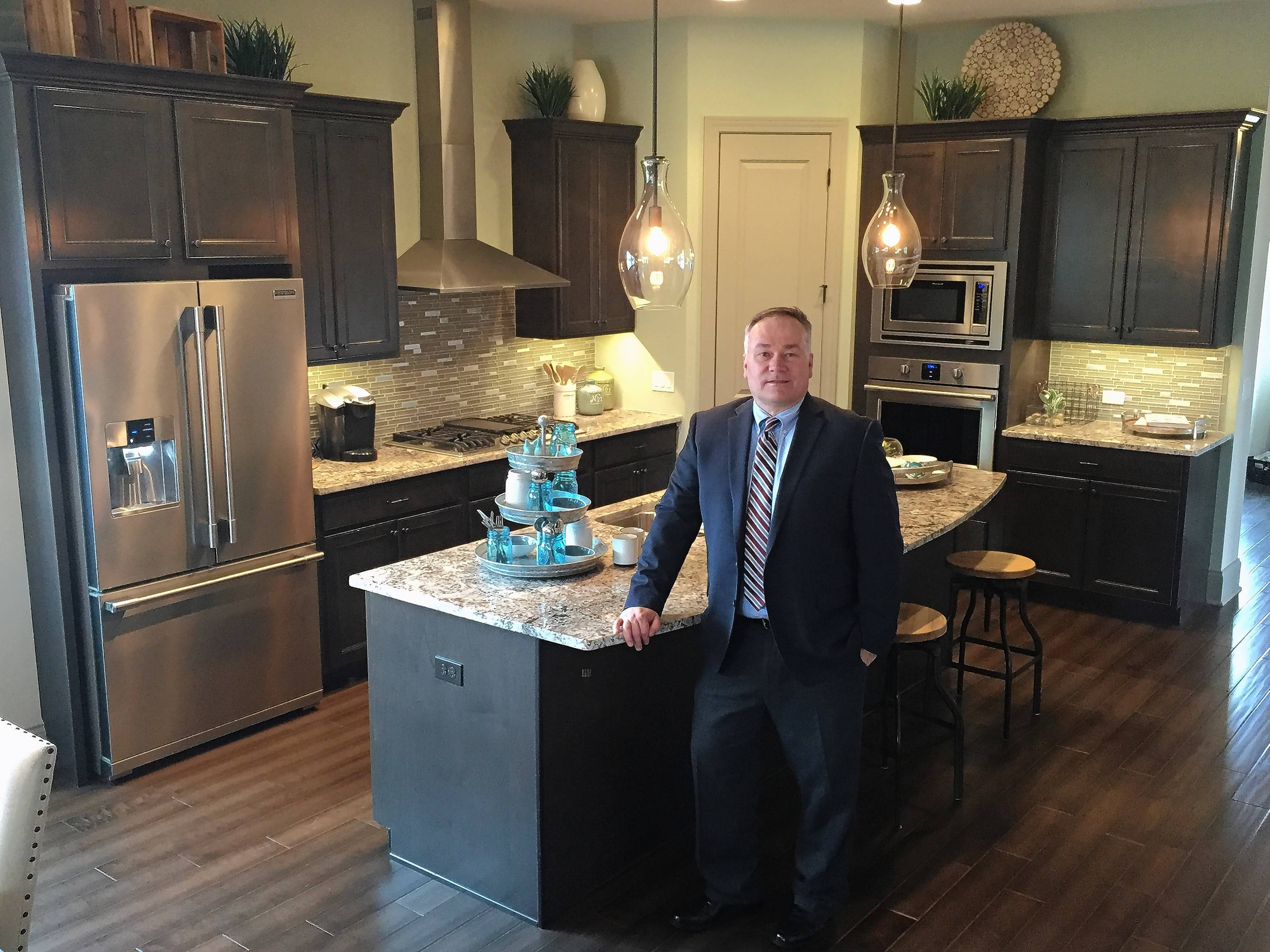 The Reserve in Barrington, a gated community of 43 houses, is the first development by David Weekley Homes since it moved into the Chicago market, said Richard Bridges, sales manager for its Chicago division.