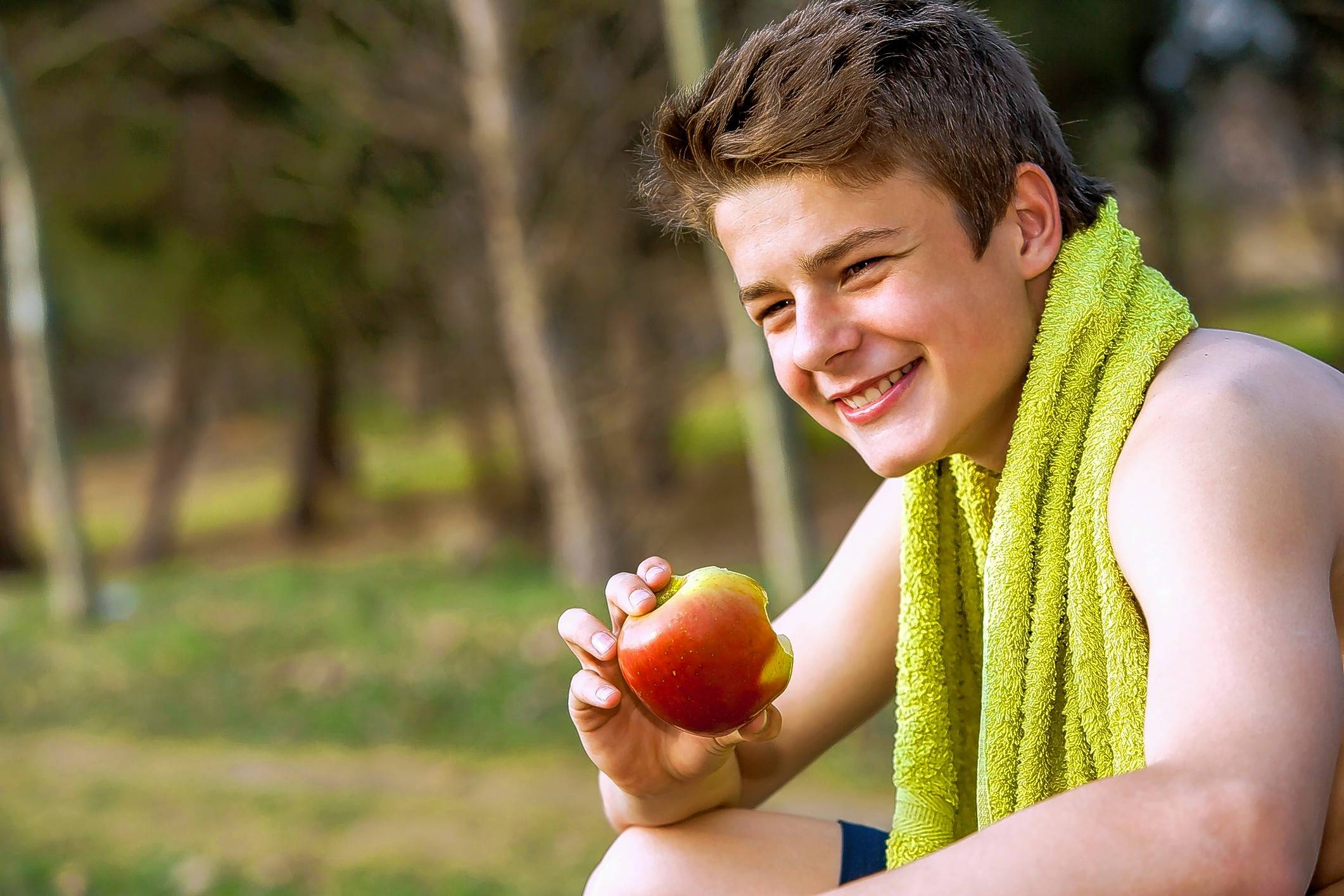 Carbohydrates such as fruit are an essential part of an athlete's diet.