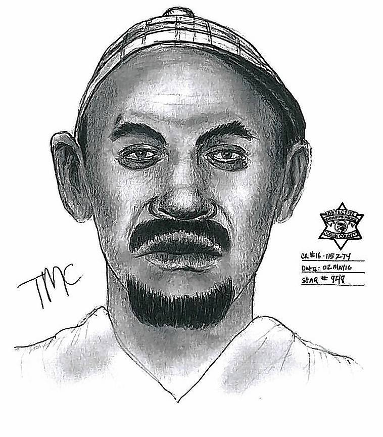 Sketch of man who tried to abduct child near Des Plaines