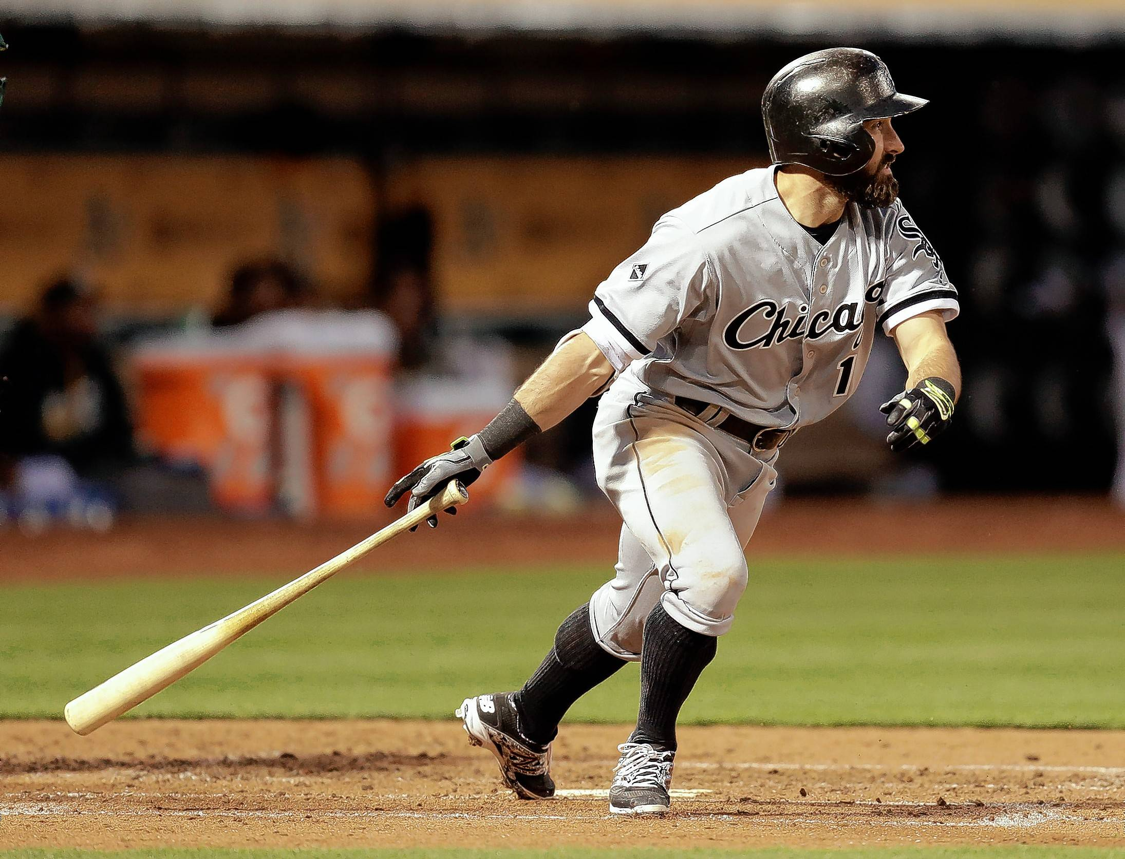 Adam Eaton has been solid at the plate for the White Sox with a .283/.357/.374 hitting line,