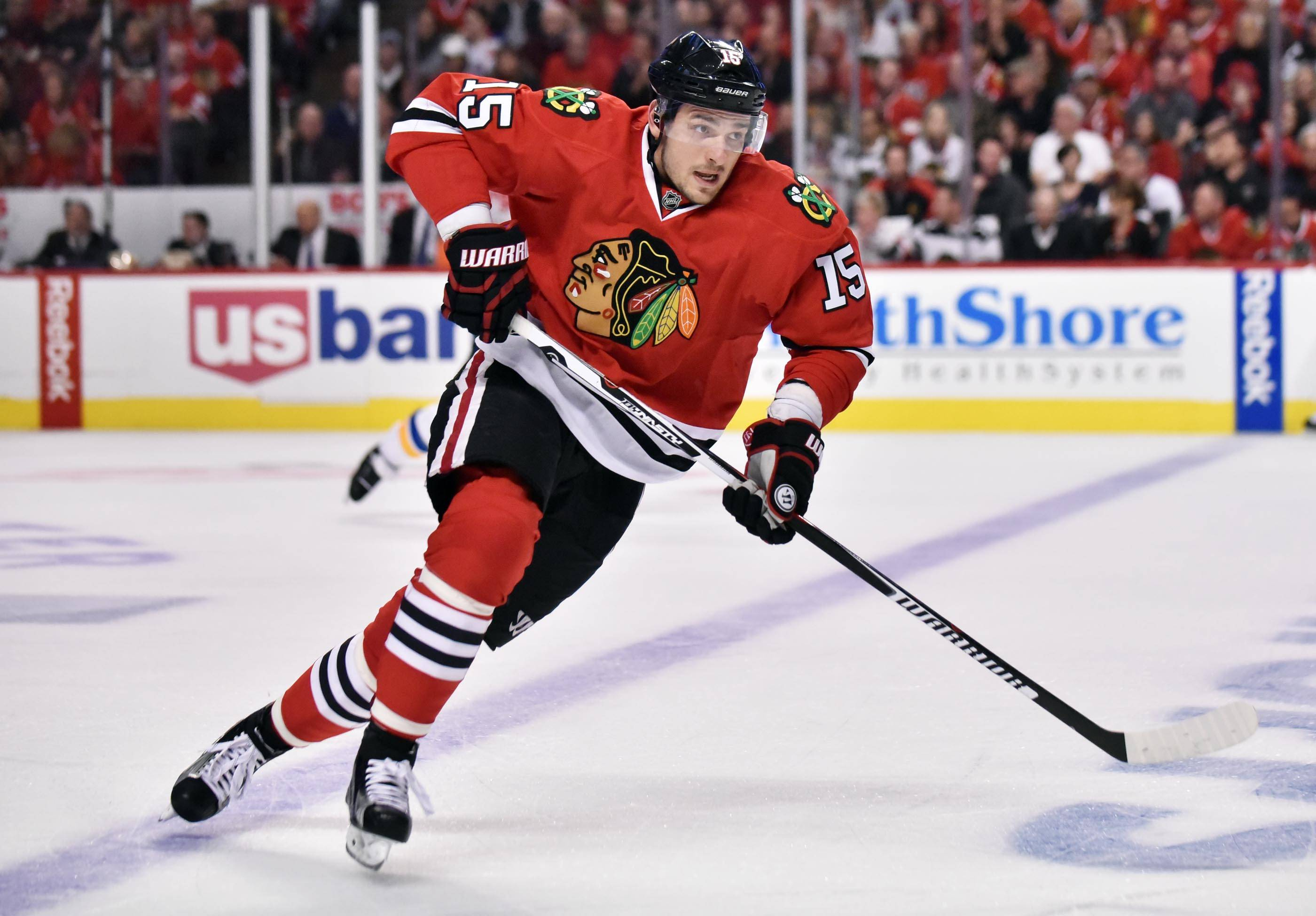 After playing in pain in the second half of the season, Blackhawks center Artem Anisimov had surgery to repair a tendon in his right wrist.