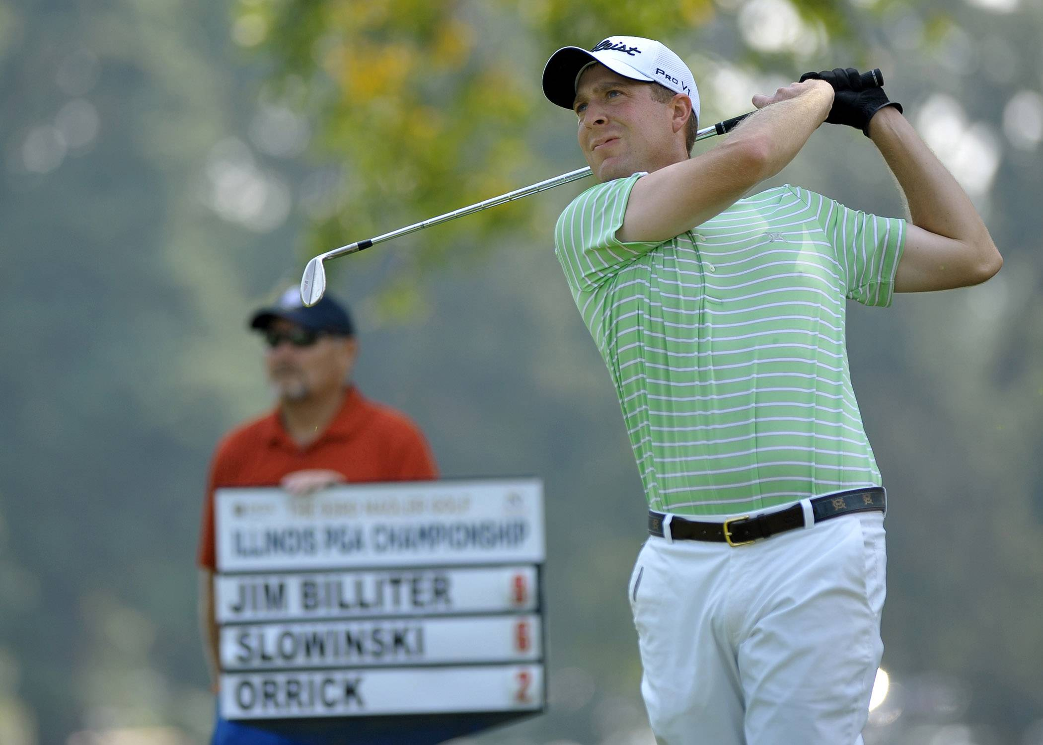 Jim Billiter won two of four majors in the Illinois PGA last year, and he'll defend his Match Play Championship on Monday at Kemper Lakes.