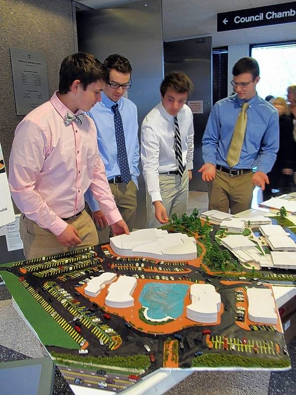 What naperville students want to see at east ogden strip mall naperville north seniors mike findlay collin osmun adam giazzon and caleb schemmel point out publicscrutiny Images