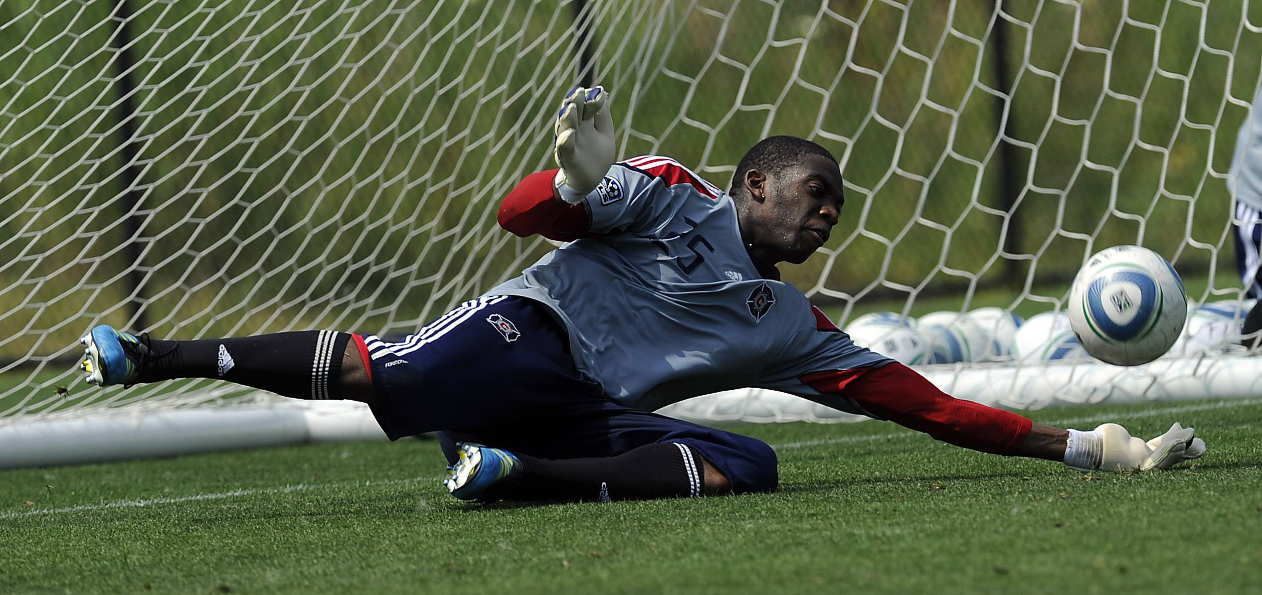 Chicago Fire goalkeeper Sean Johnson said he's frustrated that he has not played at all this season.