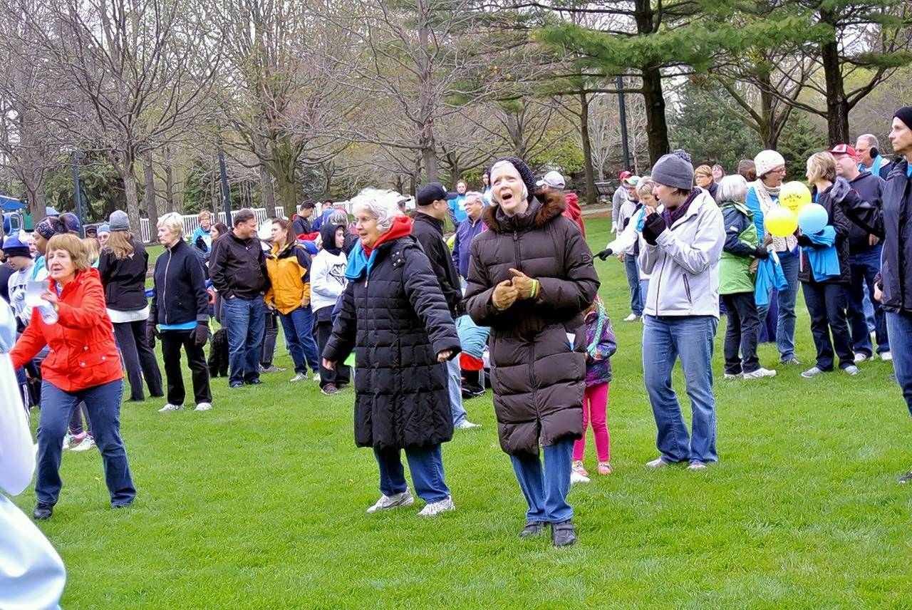 Around 300 community members attended the Go Gurnee kickoff, which encouraged attendees to walk 30 minutes each day.