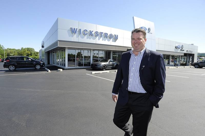 Ford motor company awards wickstrom ford of barrington for Ford motor company awards