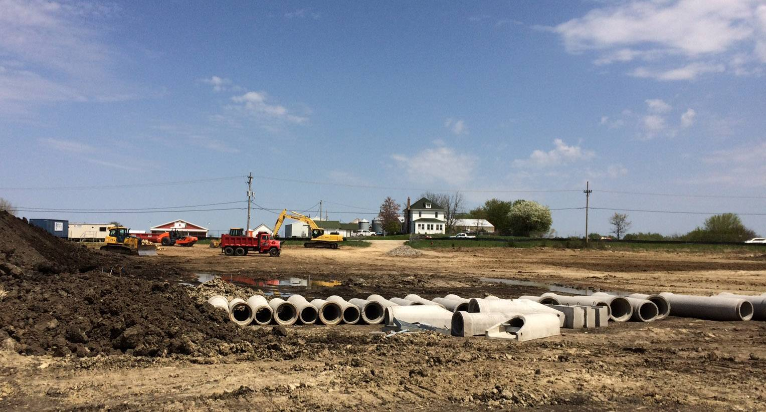 Work begins on Lakemoor municipal center along Route 120