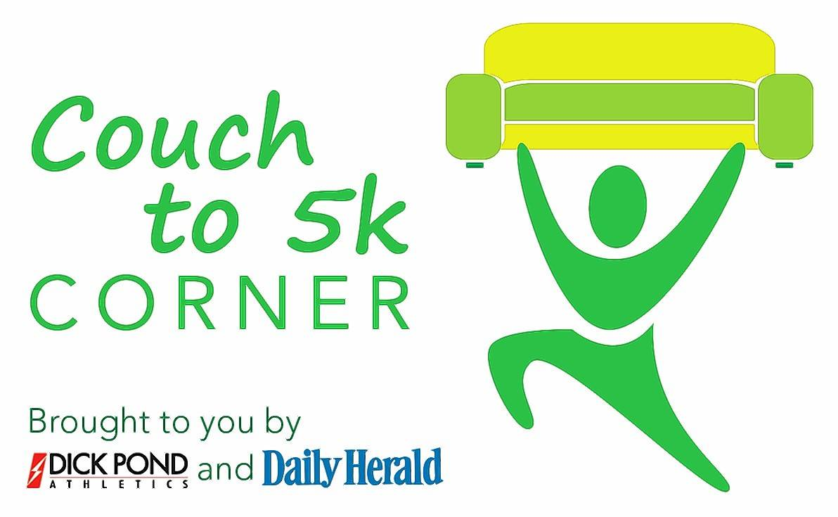 Couch to 5K Week 12 tip: Entering your first race