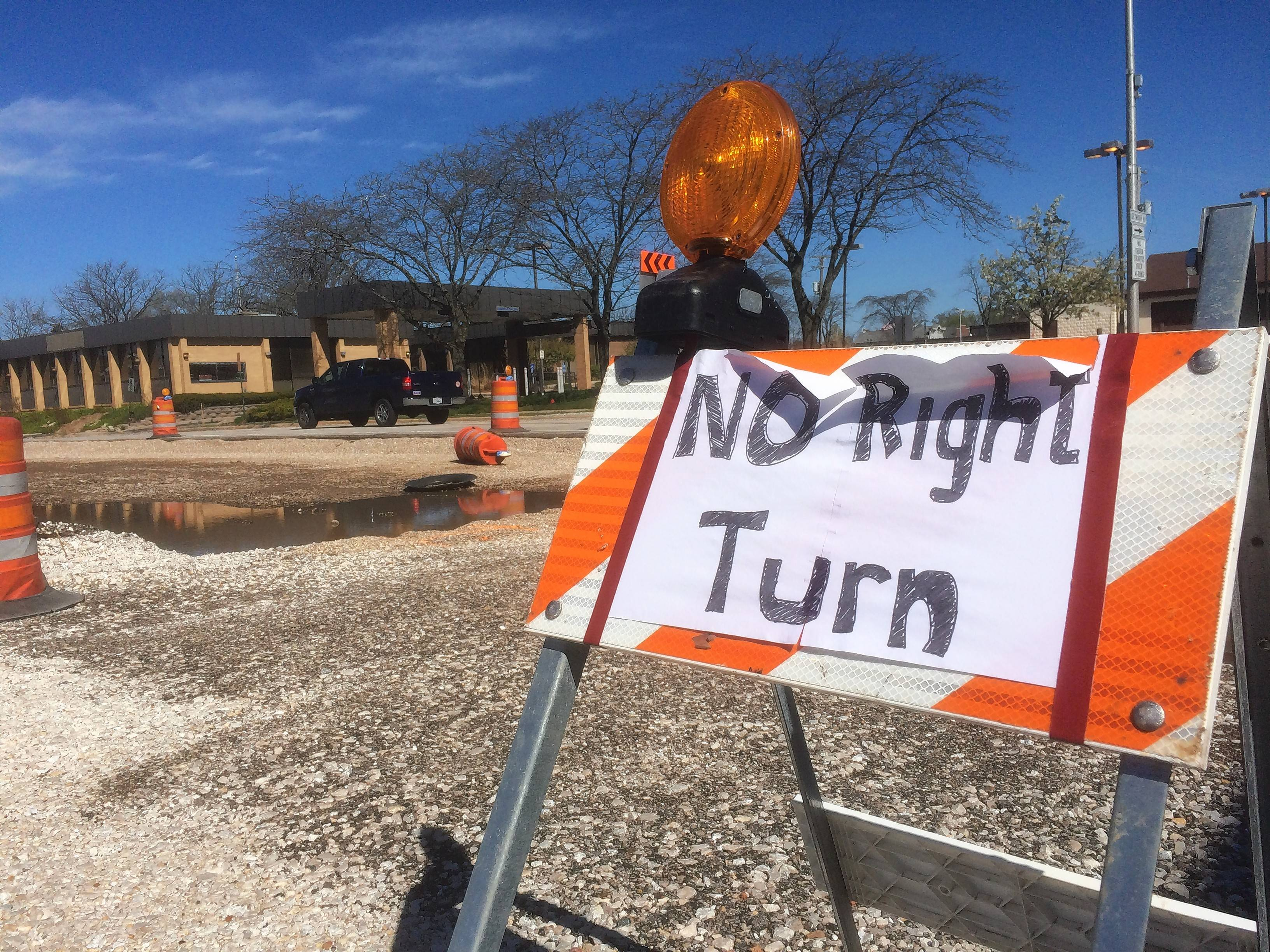 Hawley Street work bad for business in Mundelein