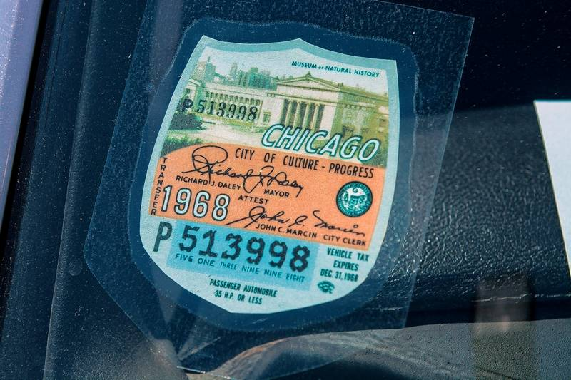 New car city sticker chicago city stickers save glimpses of time