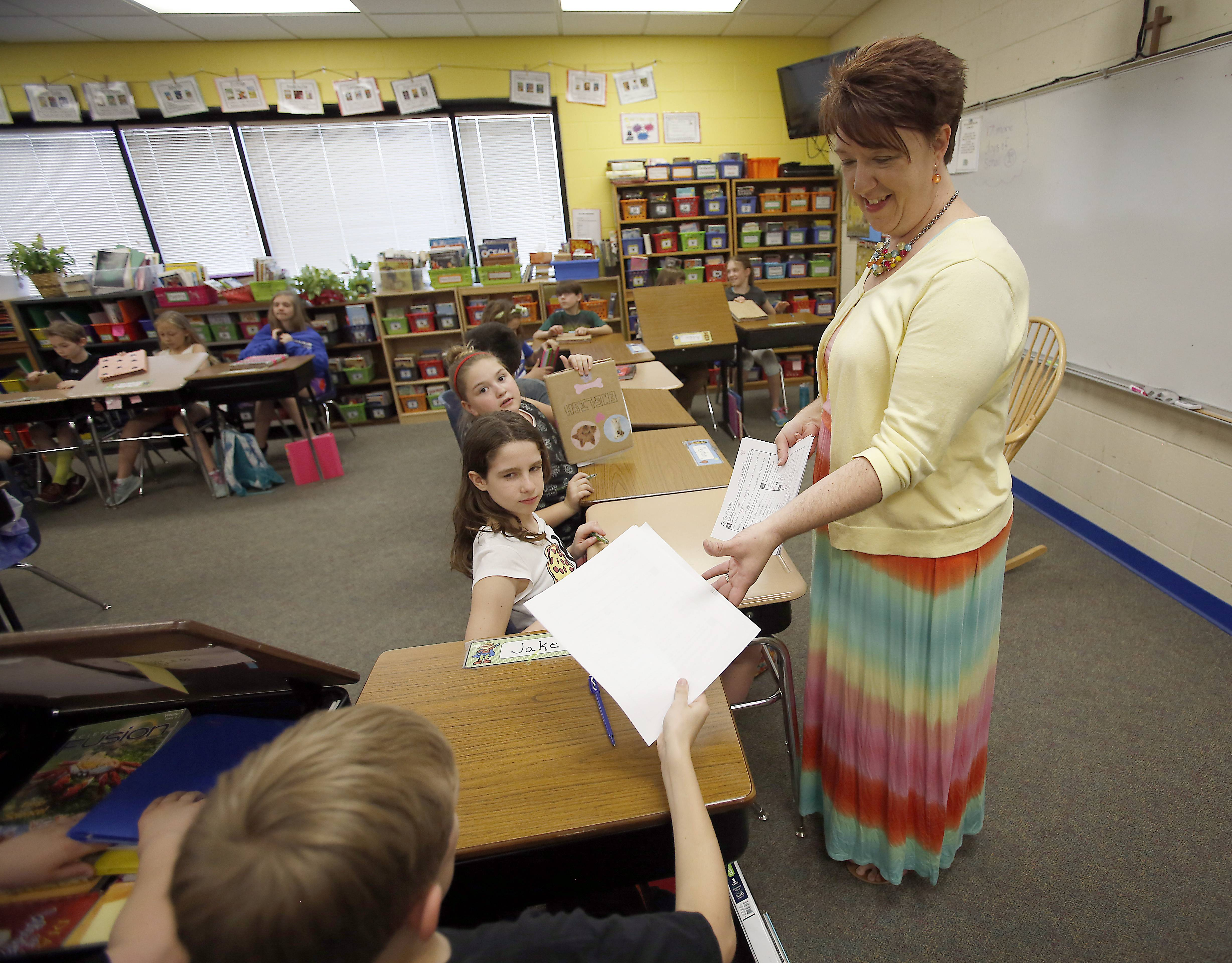 Penny Suydam teaches fifth grade at Immanuel Lutheran School in Batavia.