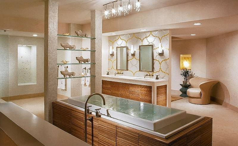 Turn your bathroom into a spa for Turn your shower into a spa