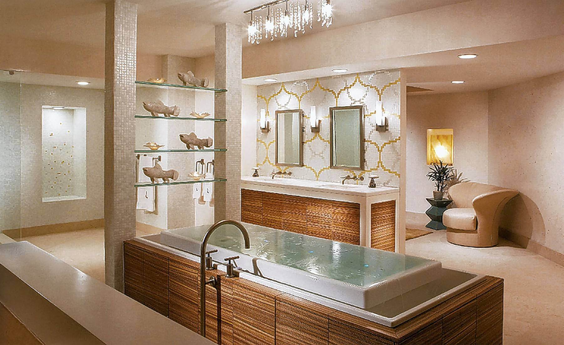Creating An At Home Getaway Is The Goal When Transforming Your Bathroom  Into A Spa
