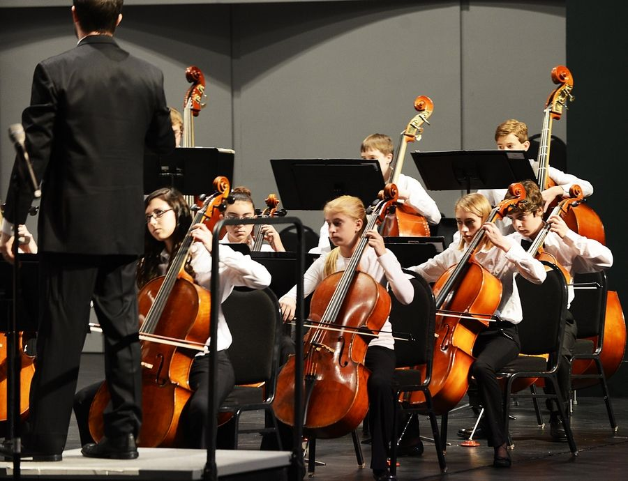 Youth orchestra concert pays tribute to Elgin's clock-making