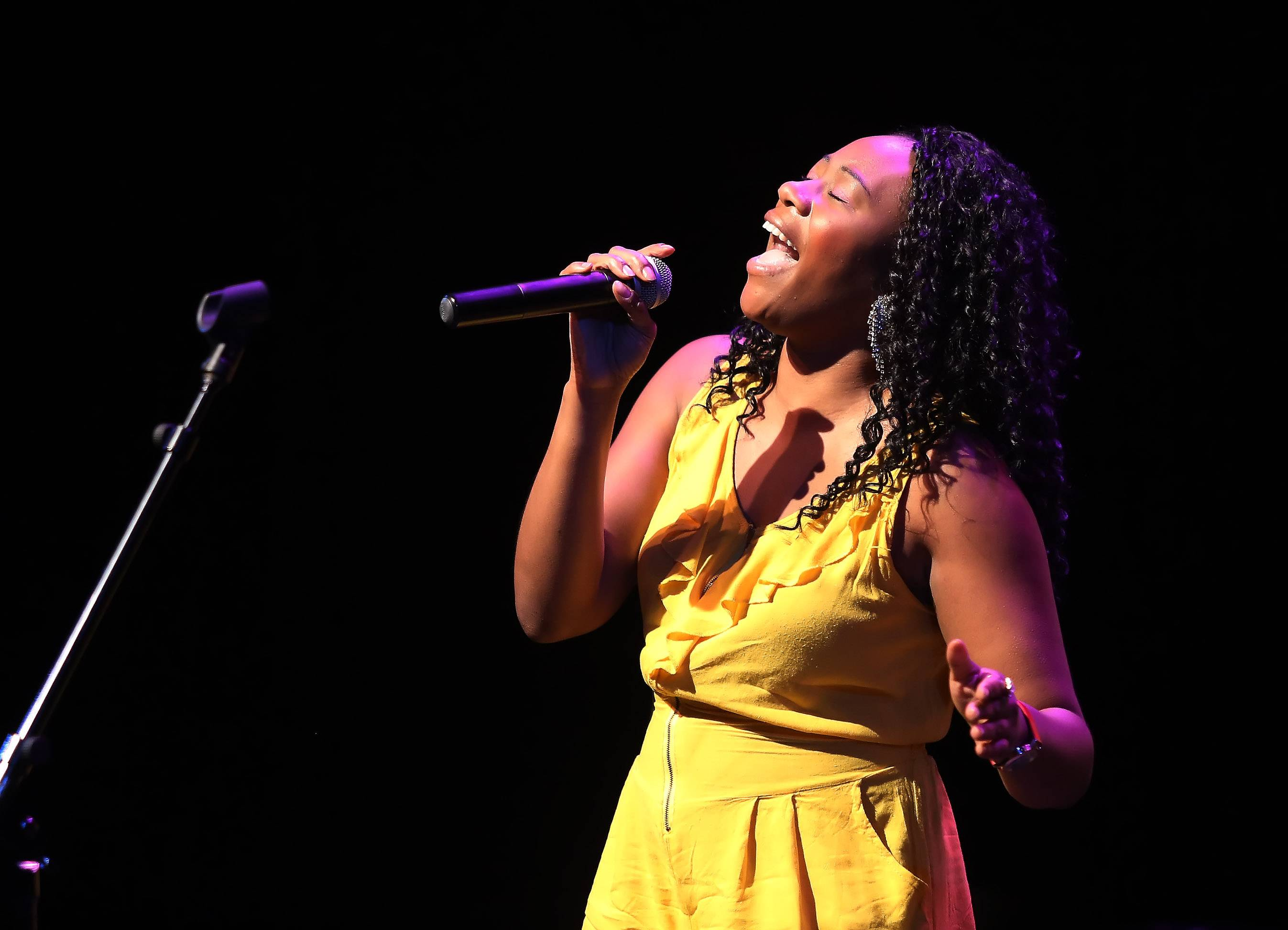 Amanya Amariel was a Top 10 finalist of Suburban Chicago's Got Talent in 2015.