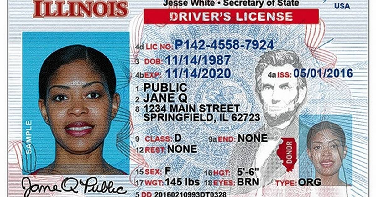 Is Driver's Changing License Illinois' Here's How