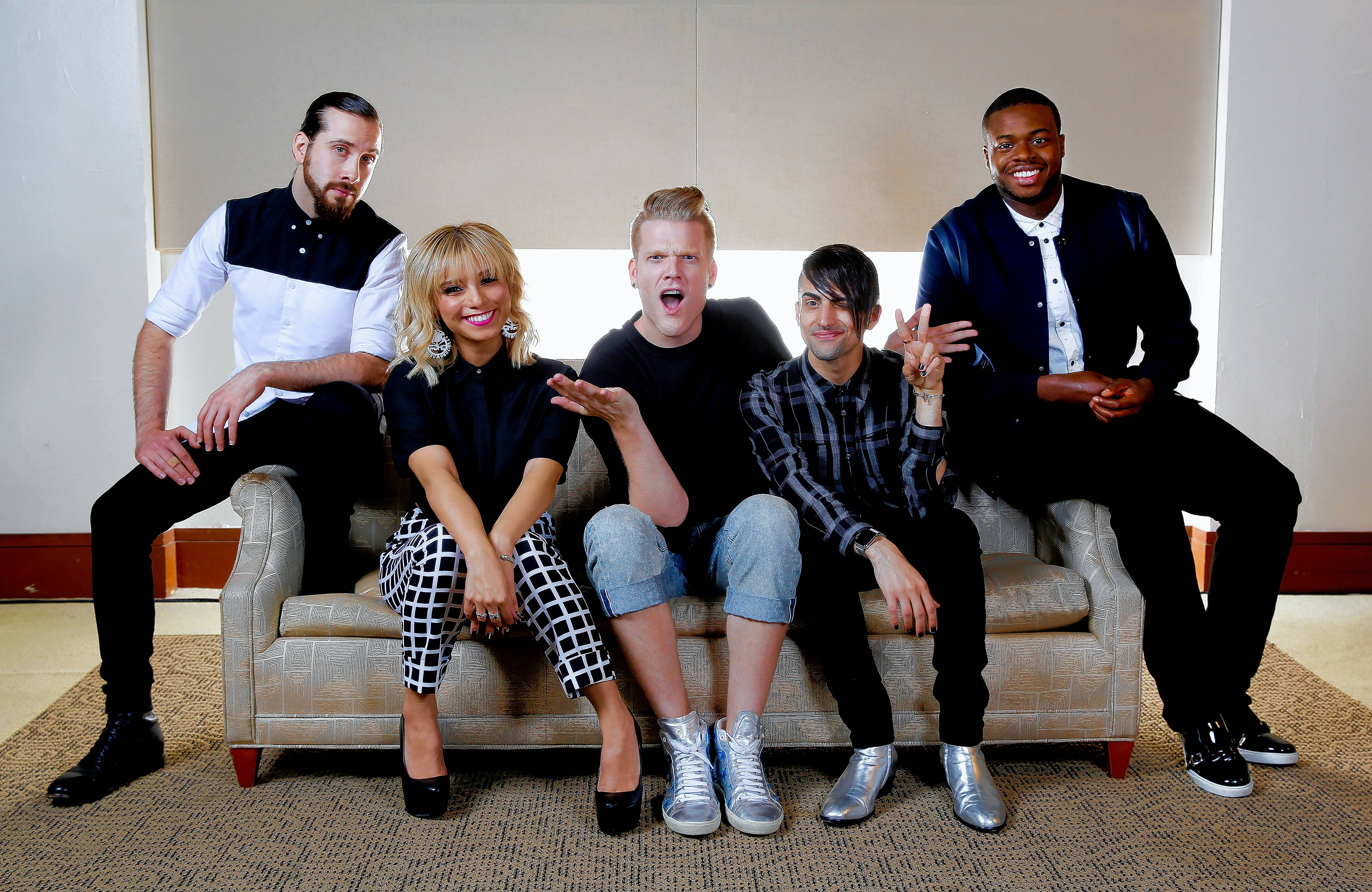 The Pentatonix will headline on Thursday, Oct. 27, at the Allstate Arena. Pictured from left are Avi Kaplan, Kristie Maldonado, Scott Hoying, Mitch Grassi and Kevin Olusola.