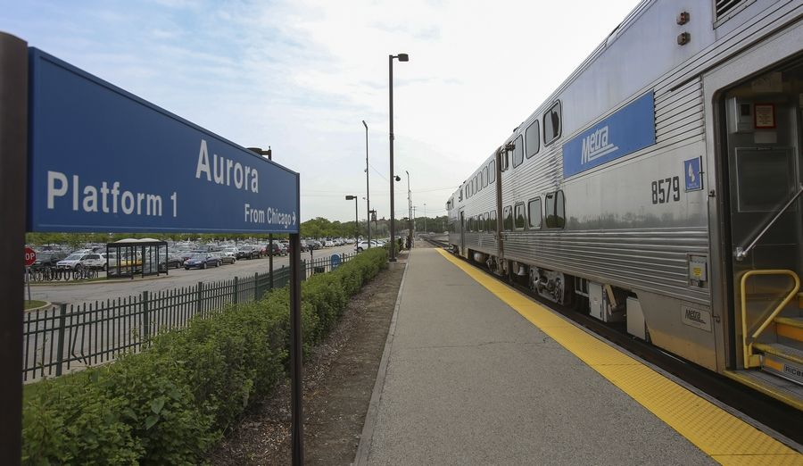 Metra's BNSF Line ends in Aurora but there's hope of extending it to Oswego and beyond.