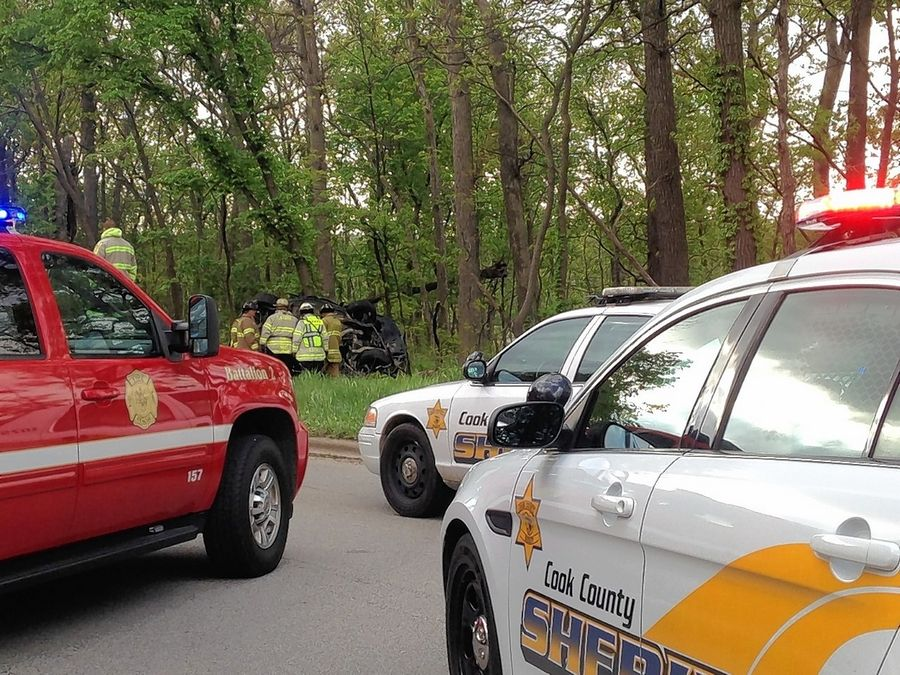 Officials: Driver airlifted from Higgins crash 'fortunate to