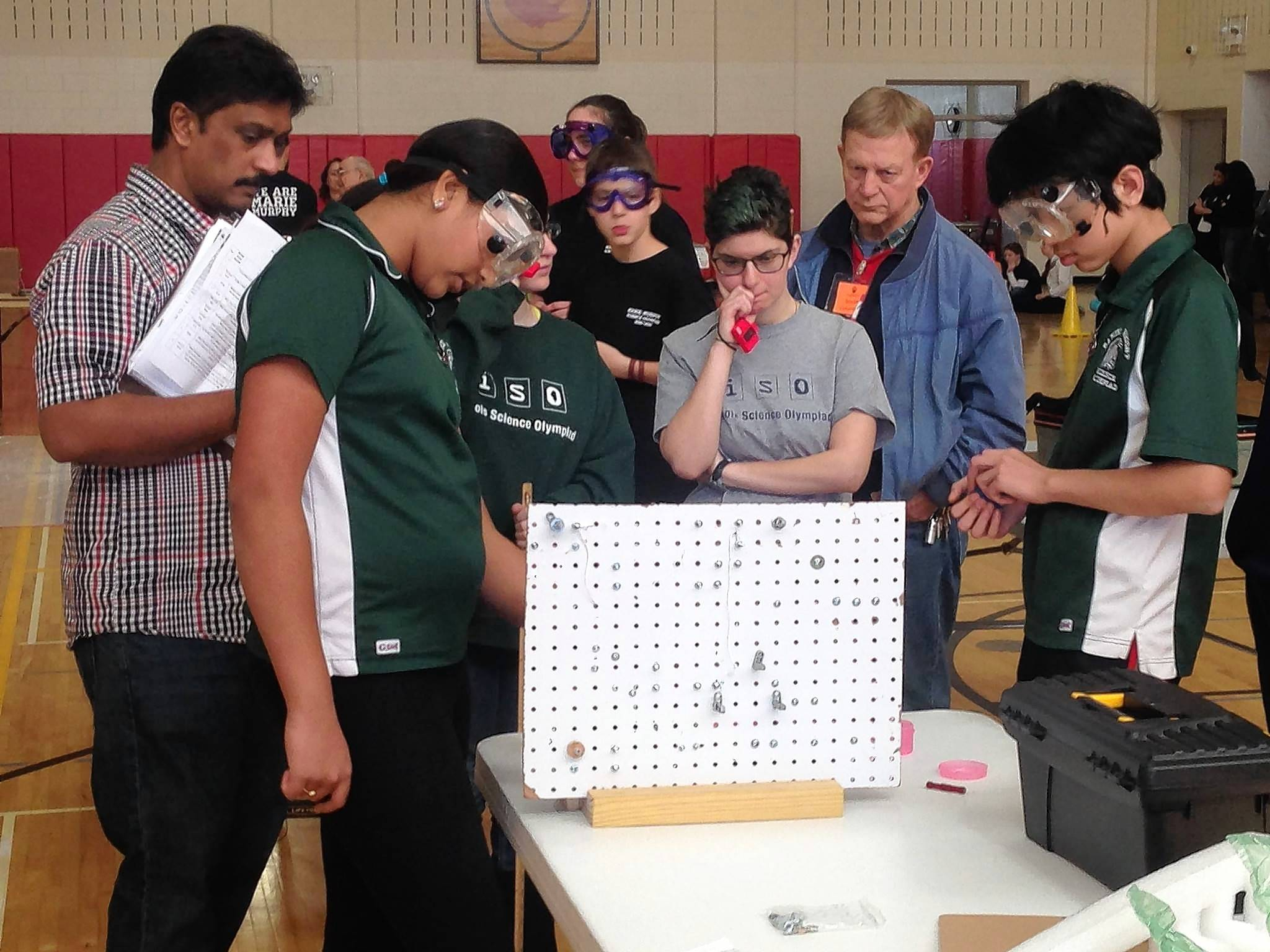 Wright Jr. High science team aims for national title