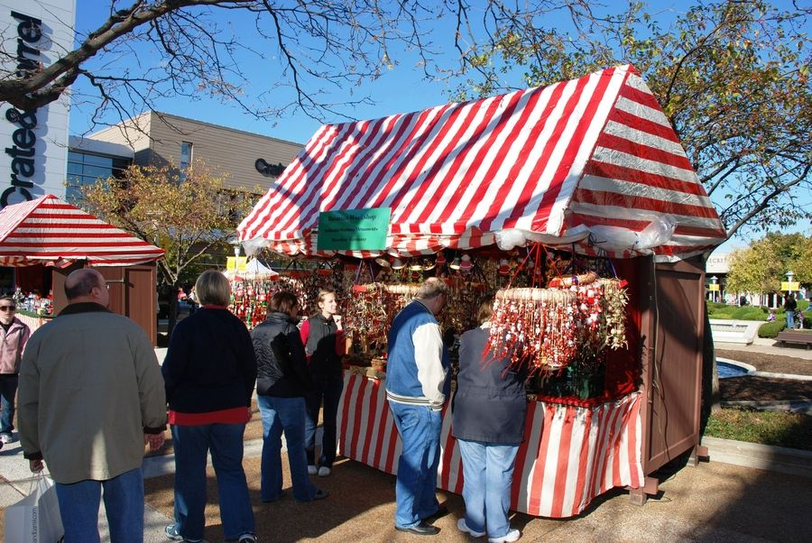 Christkindlmarket Chicago operated a suburban location in Oak Brook in 2007, 2008, 2014 and 2015, but this year, the German-themed market is moving to the Naper Settlement in Naperville. The market begins on Black Friday, Nov. 25, and runs 21 days until closing on Christmas Eve, Dec. 24.