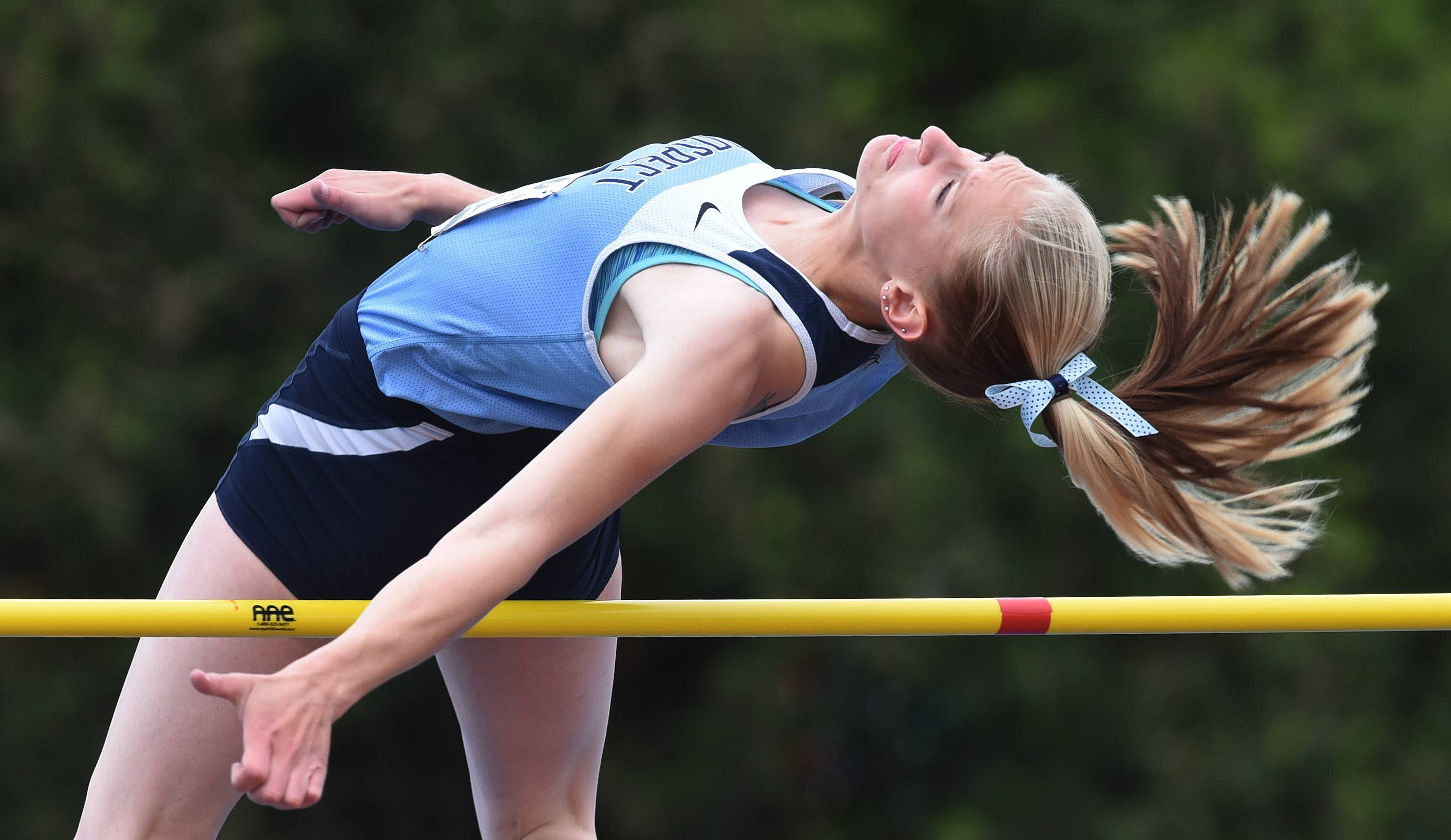 Girls track and field: Prospect powers to impressive Day 1 downstate