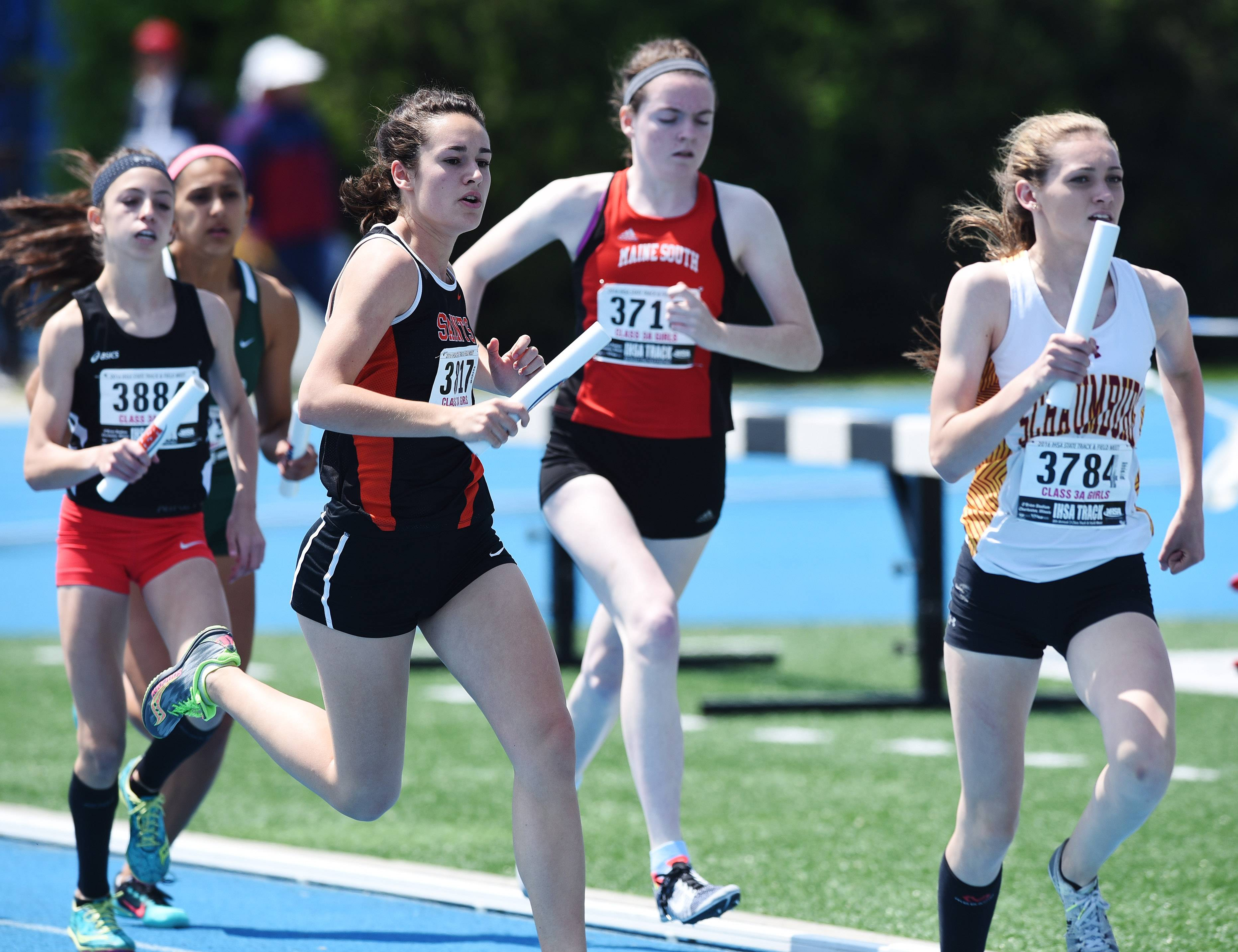 Images: Saturday at the State Final Meet in Girls Track & Field