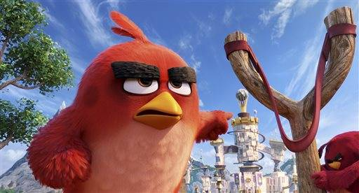 """The Angry Birds Movie"" soared to $39 million in its debut weekend."