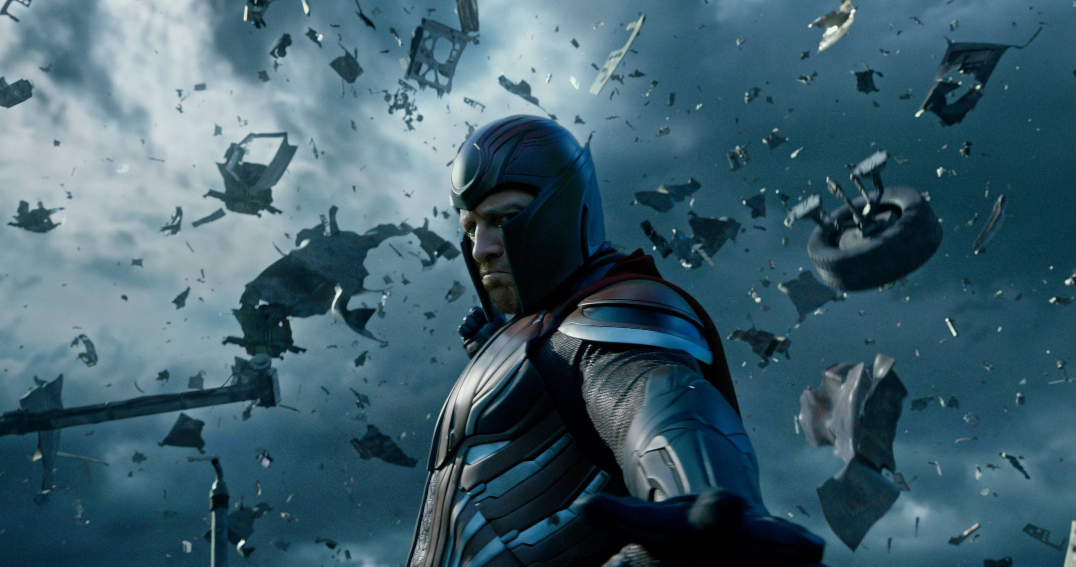 "Magneto (Michael Fassbender) goes on a destructive streak in ""X-Men: Apocalypse."""