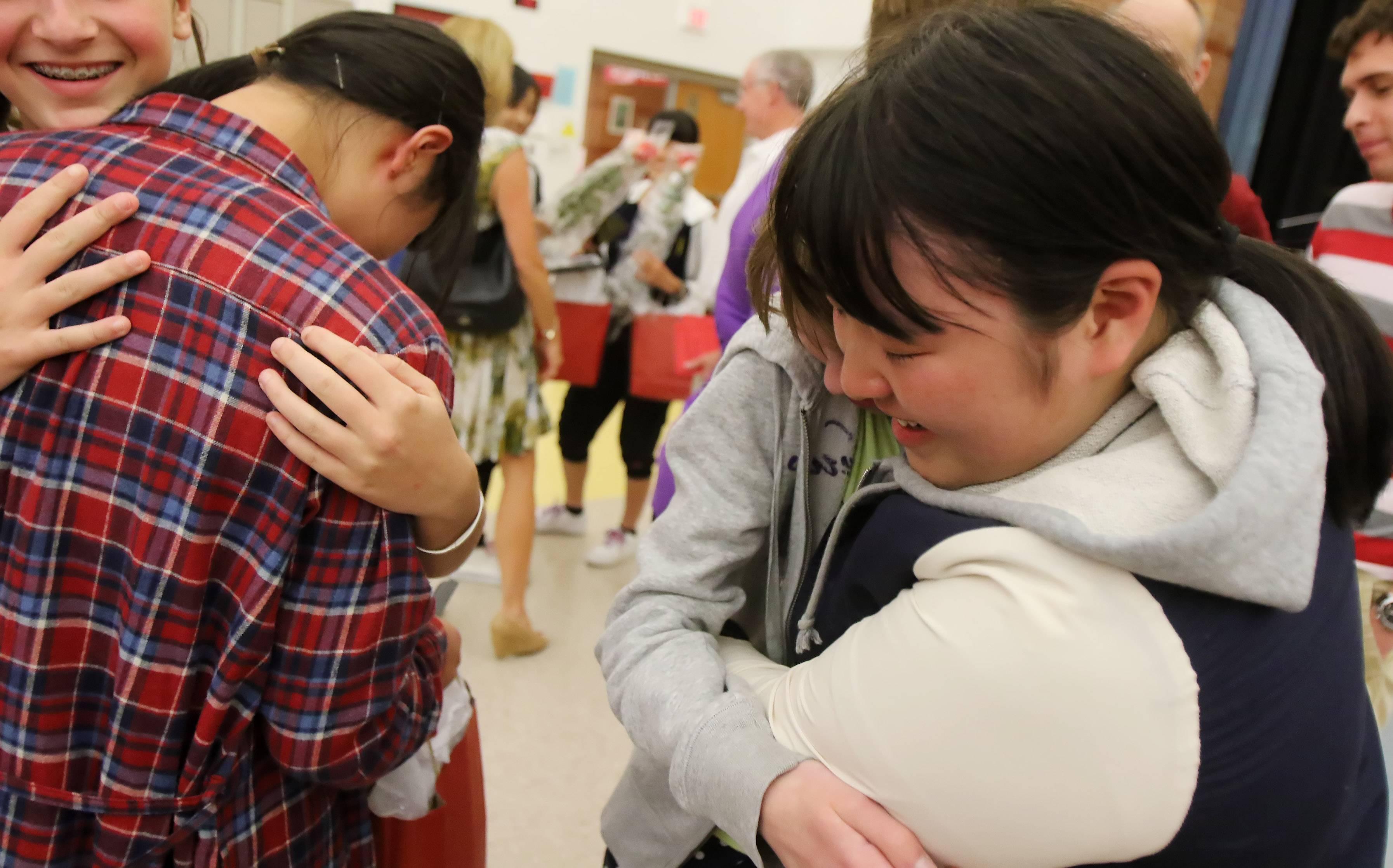 District 25 says 'Sayonara' to Japanese exchange students