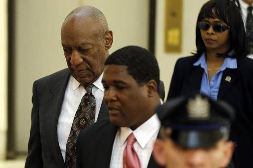 Bill Cosby arrives at the Montgomery County Courthouse for a preliminary hearing, Tuesday, May 24, 2016, in Norristown, Pa. Cosby is accused of drugging and molesting a woman at his home in 2004. (AP Photo/Matt Rourke, Pool)