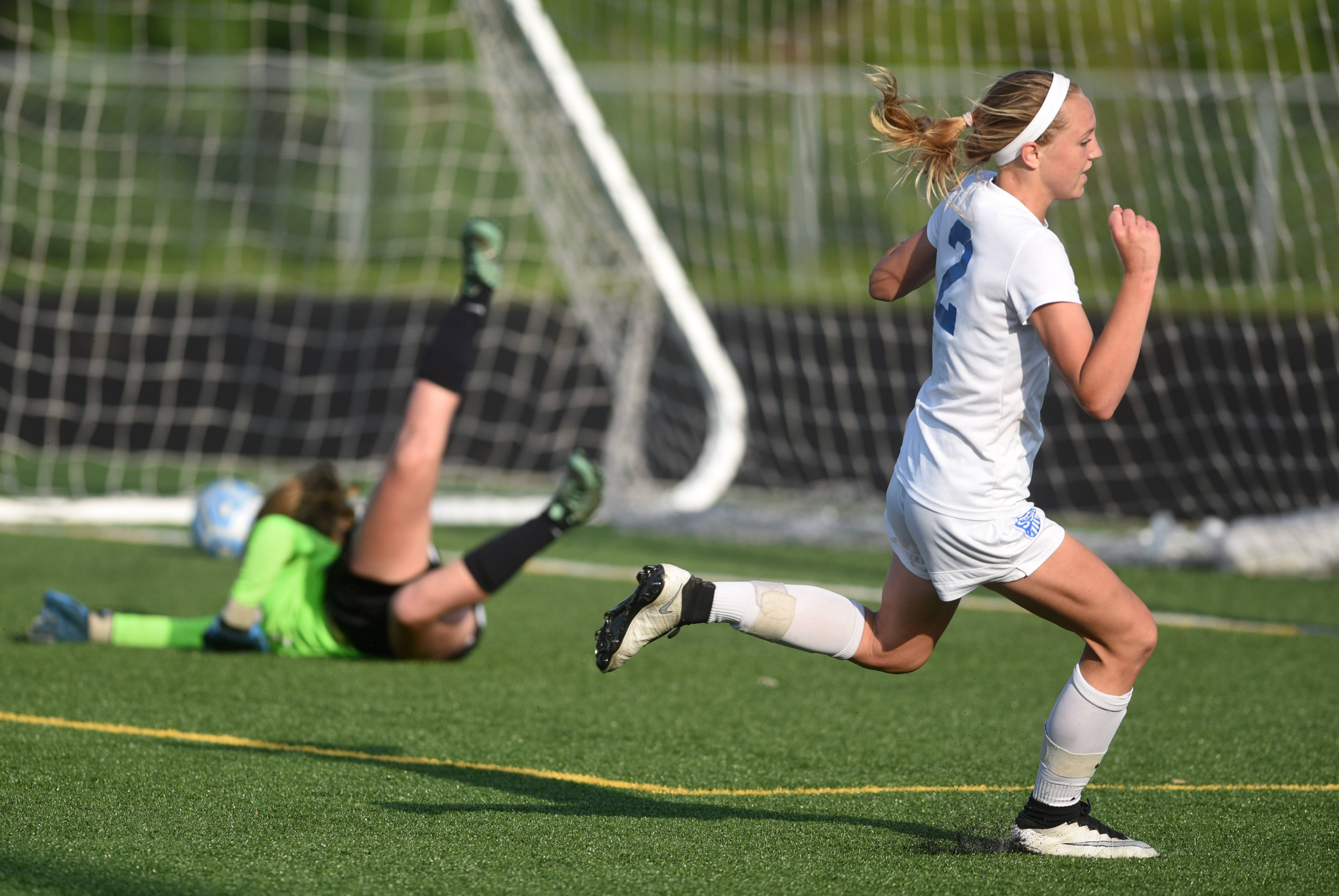 Girls soccer: St. Charles North escapes Bartlett in OT