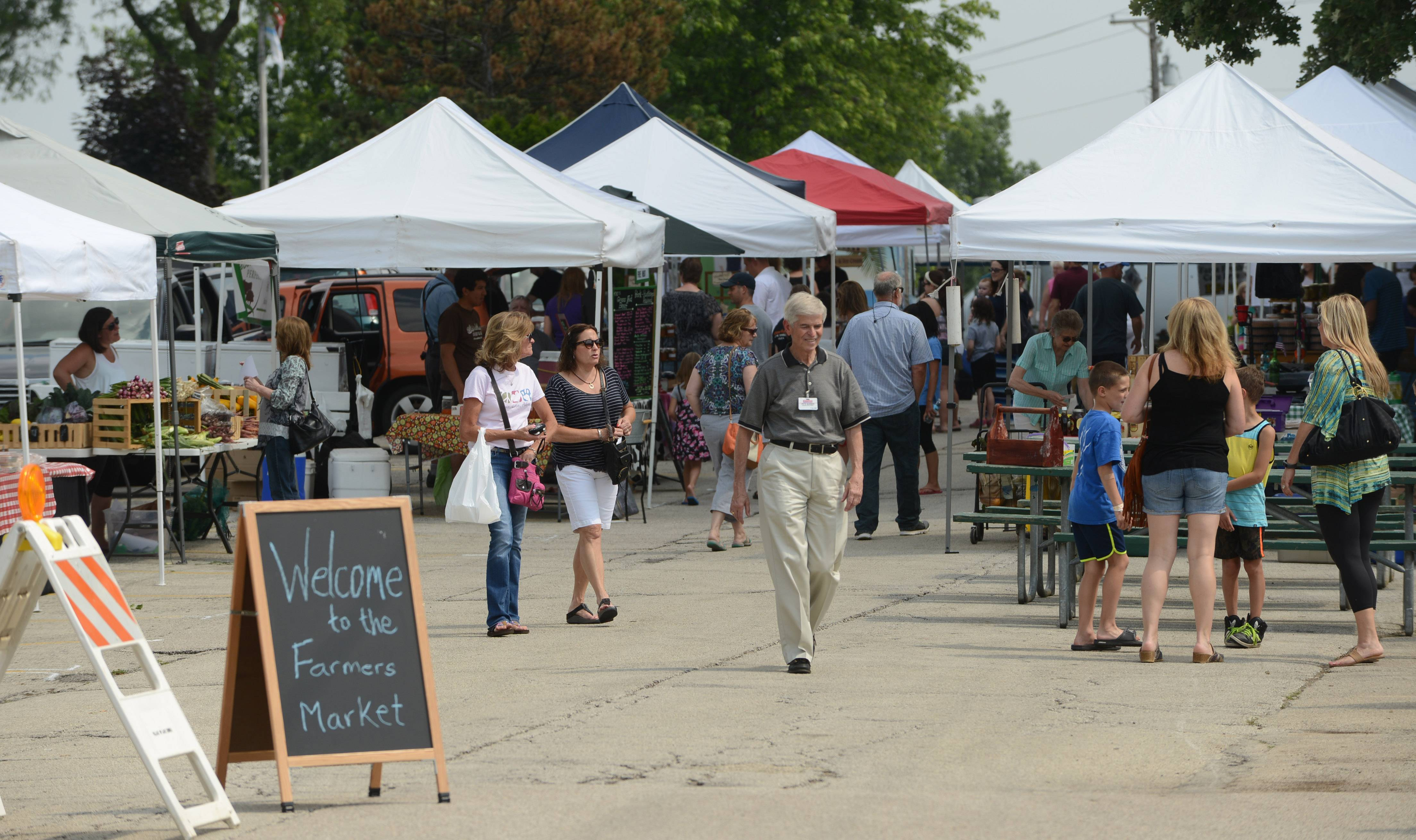 Lake Zurich's Farmers Market will be open from 3-7 p.m. Fridays, June 3 to Sept. 9 in Paulus Park.