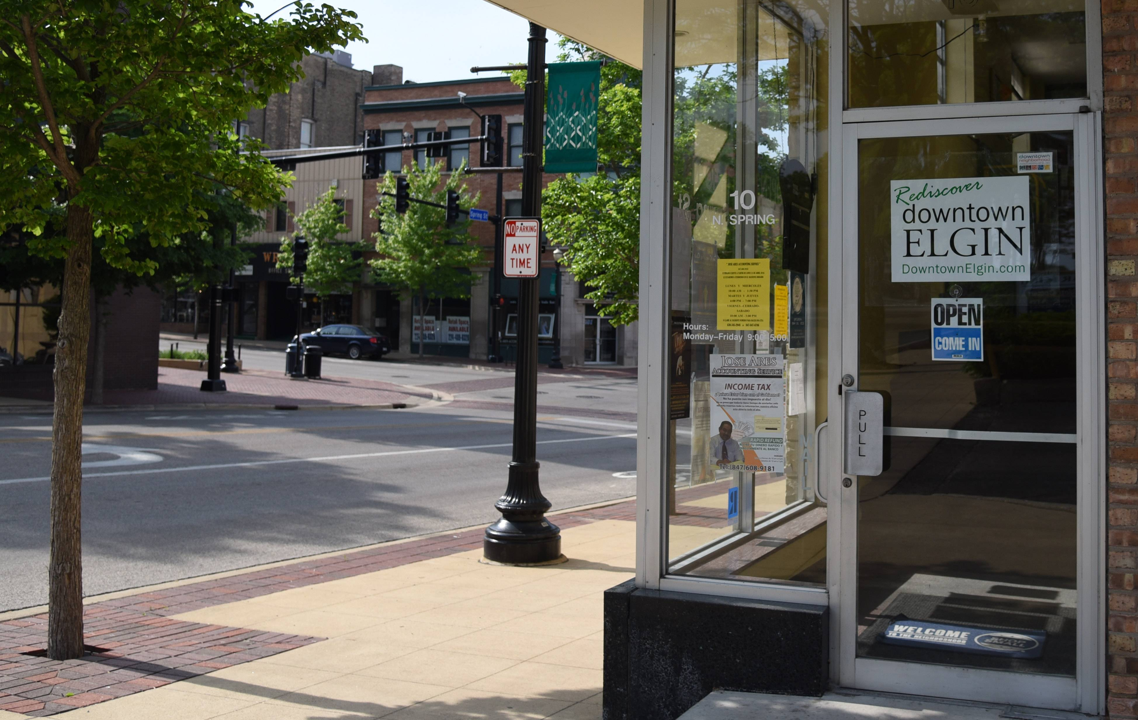 A proposed new tax for business owners to fund the Downtown Neighborhood Association of Elgin would amount to 1 percent of a property's equalized assessed value as of 2002 or 2016, whichever is less.