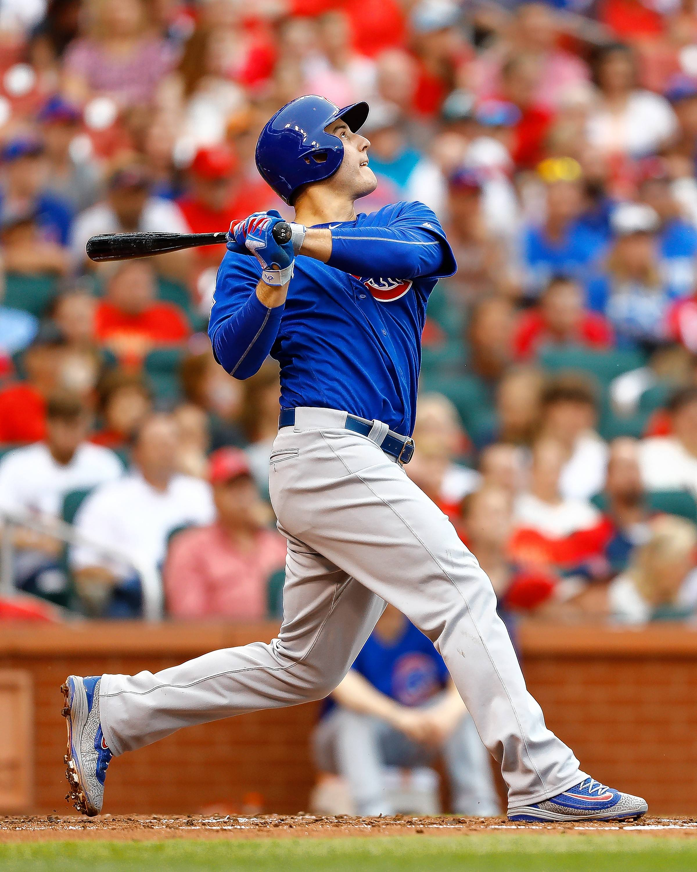 "Chicago Cubs' manager Joe Maddon gave first basemen Anthony Rizzo an extended break Friday by not starting him against the Philadelphia Phillies. Maddon had to juggle the lineup, but said he was ""looking forward"" to giving Rizzo the extra rest."