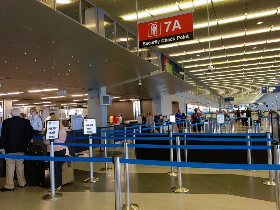 Midmorning Friday at O'Hare International Airport, it was smooth sailing for travelers at security checkpoints. Officials are still advising fliers to get to airports in plenty of time.