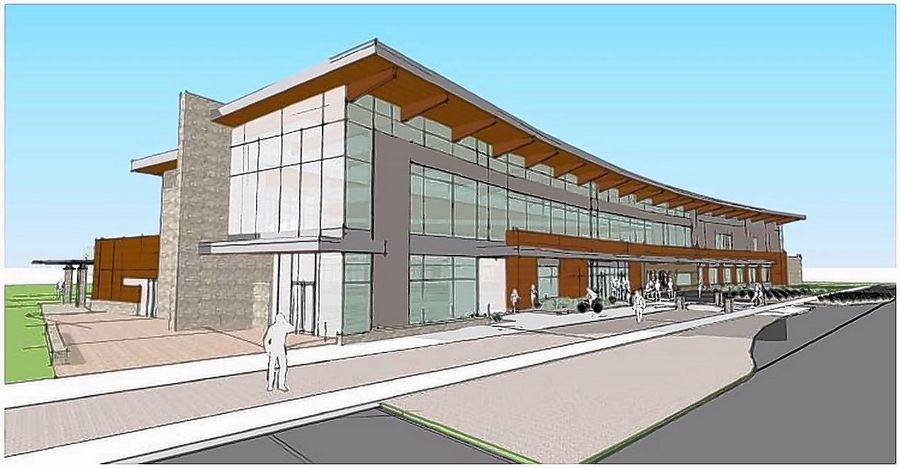 Building a new library in West Dundee is one of two proposed projects that would cost the Fox River Valley Public Library District $39.5 million.