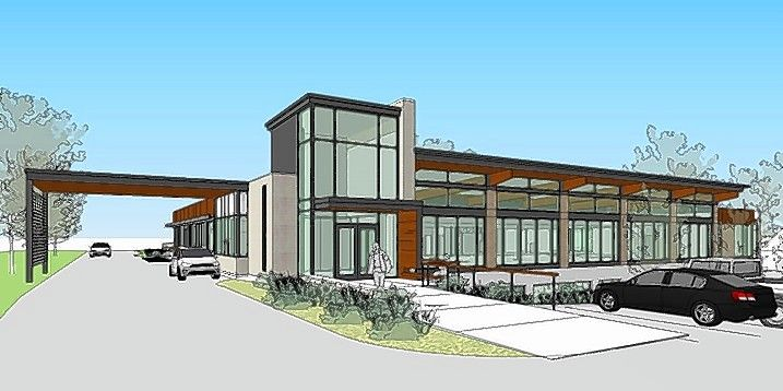 Proposed renovations to the Dundee Library in East Dundee would include adding easy-to-use shelves, creating a larger children's area, providing a computer lab, building a drive-up service window and adding tutoring, study and meeting rooms.