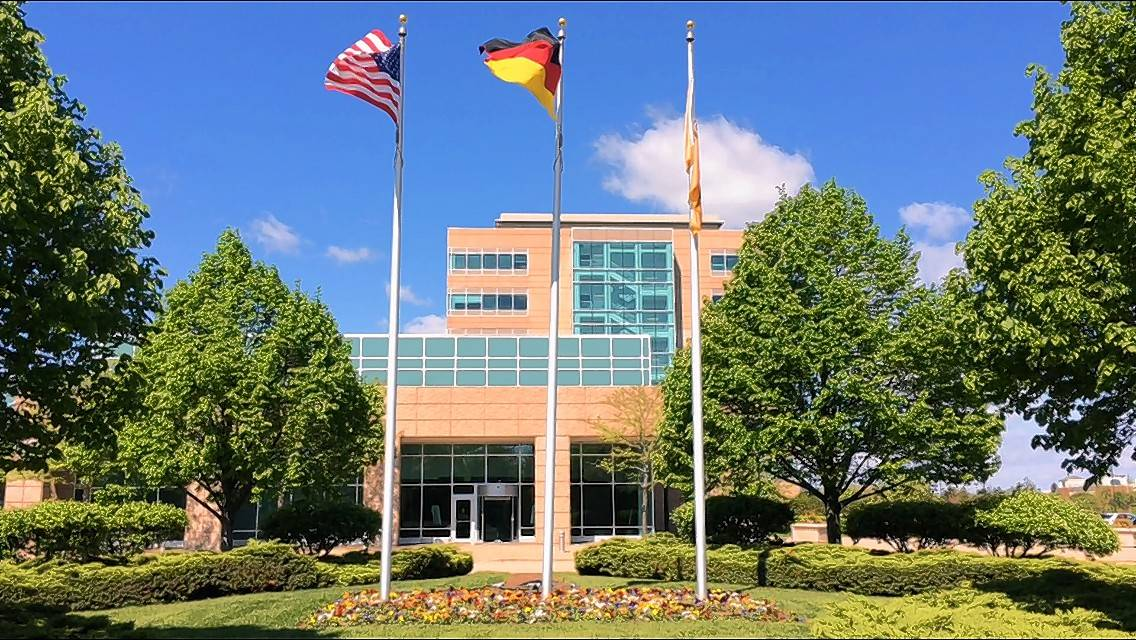 Continental Automotive Systems mostly occupies this seven-story office building on Lake-Cook Road in Deer Park. Lake Zurich Unit District 95 officials have agreed to contest a property valuation appeal that could result in a tax refund of at least $192,023 to the building owners.