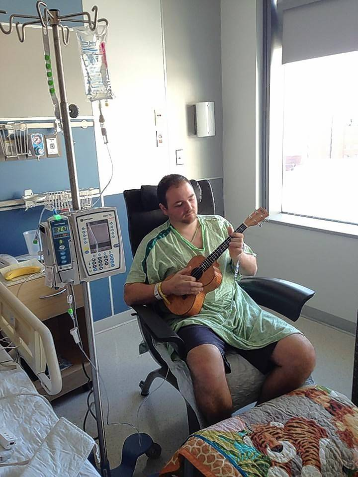 When Steve Sebby arrived at Rush University Medical Center, his left side was paralyzed from a stroke. However, after an innovative surgery, he was soon back to playing guitar.