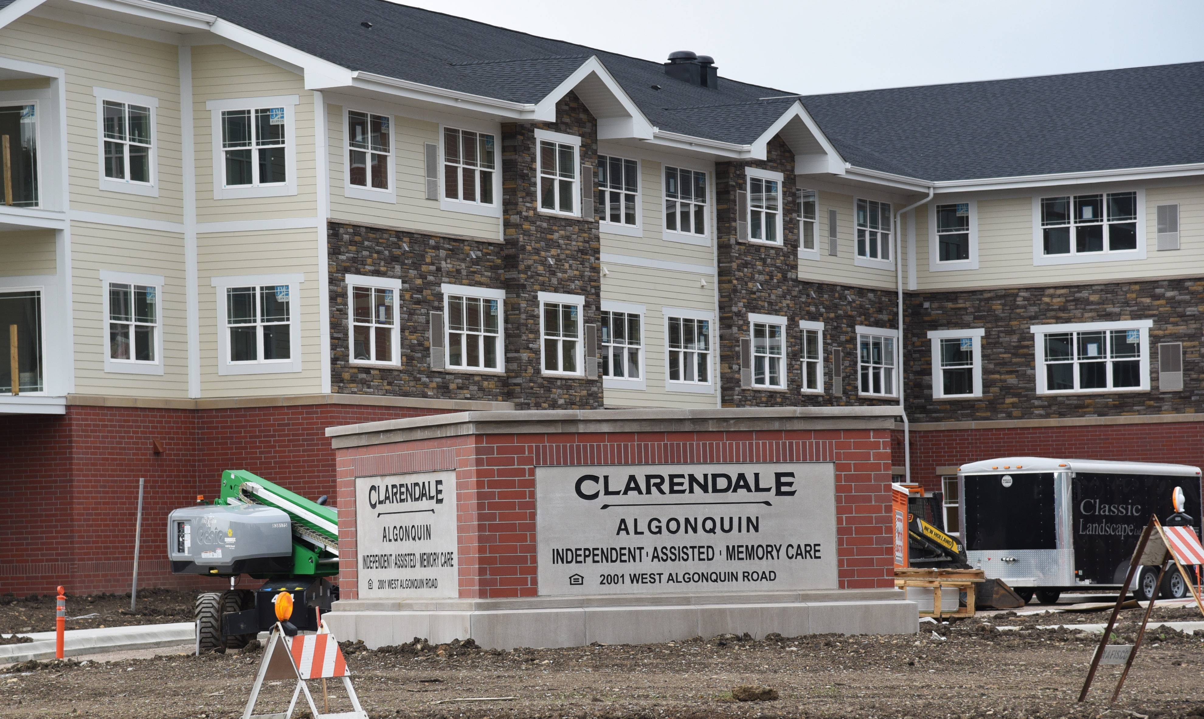 Clarendale of Algonquin, a 186-unit senior living community being built at 2001 W. Algonquin Road, is taking reservations for its independent living, assisted living and memory care rental apartments.