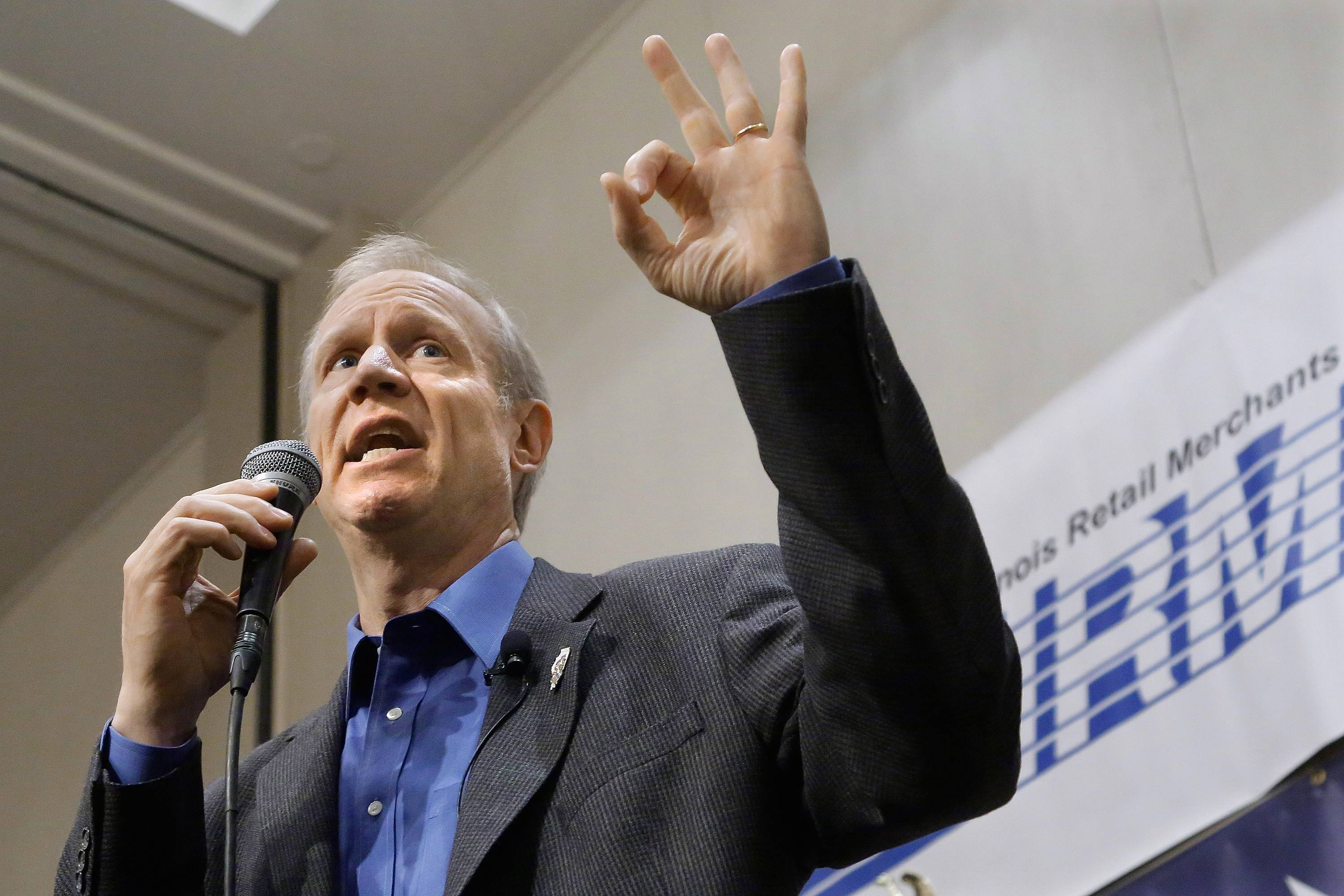 Republican Gov. Bruce Rauner has pitched a last-minute budget proposal.