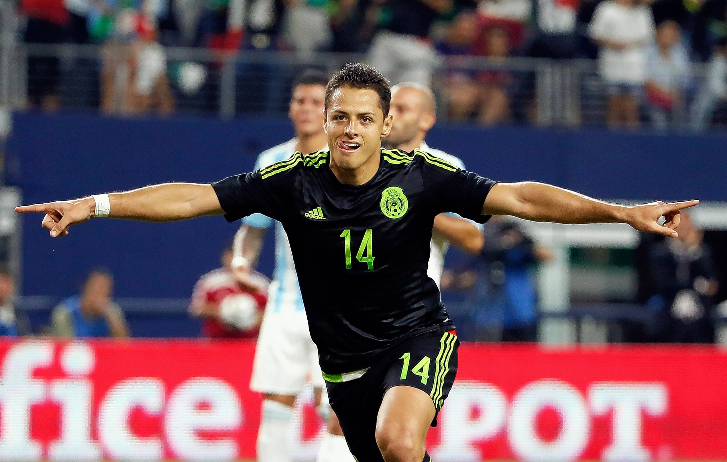 Mexico's Javier Hernandez is one of the many soccer superstars scheduled to play in the Copa America Centenario tournament, which includes four matches at Soldier Field in Chicago.