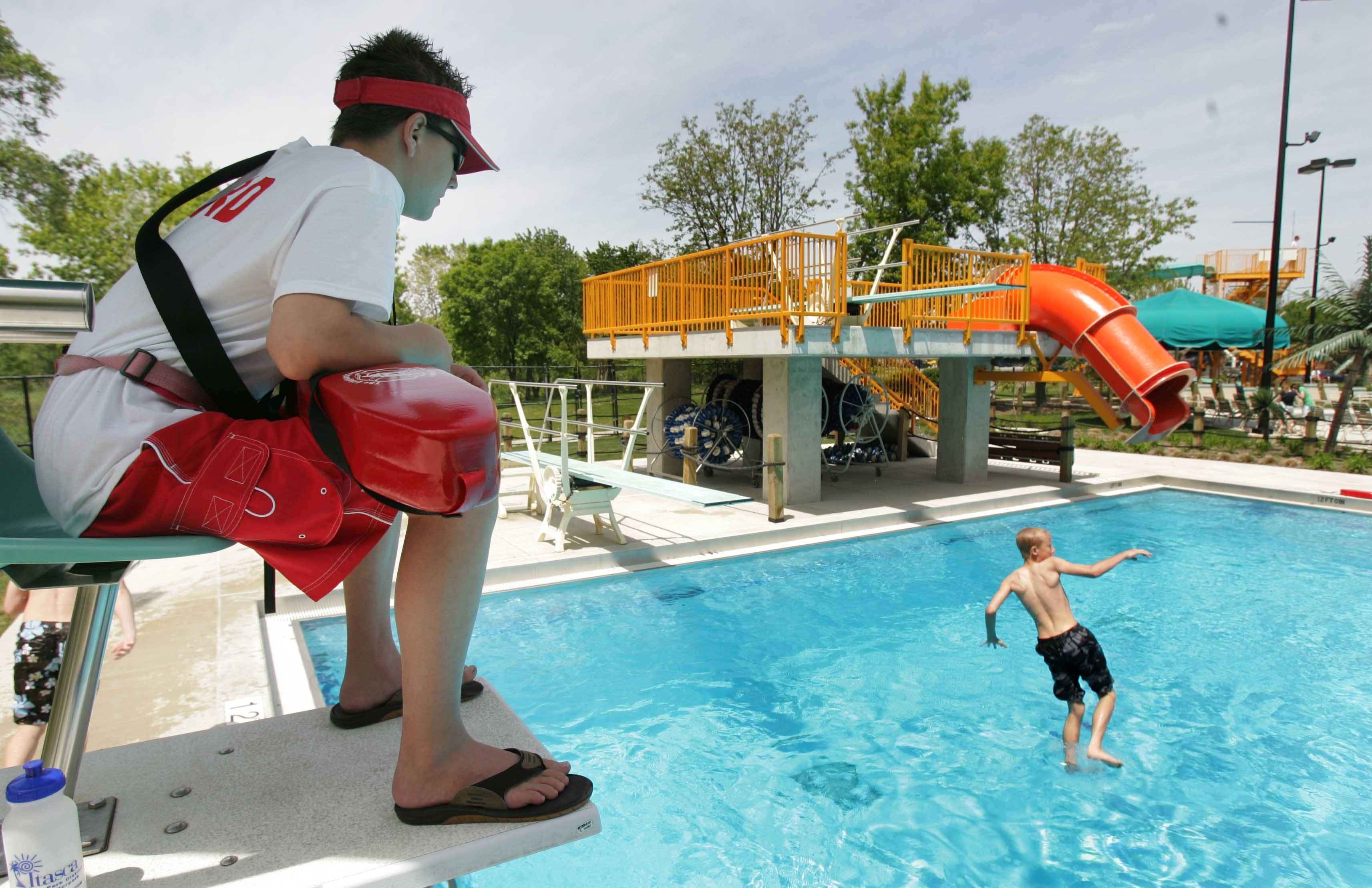 Suburban pools are feeling the pinch with a shortage of lifeguards.