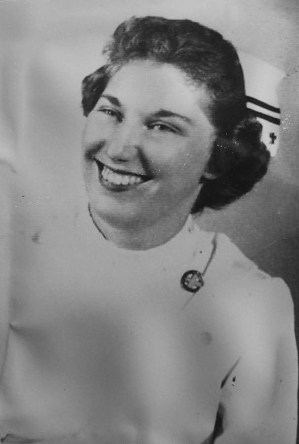 Merrilee Andelbradt of Naperville became a nurse in 1956.