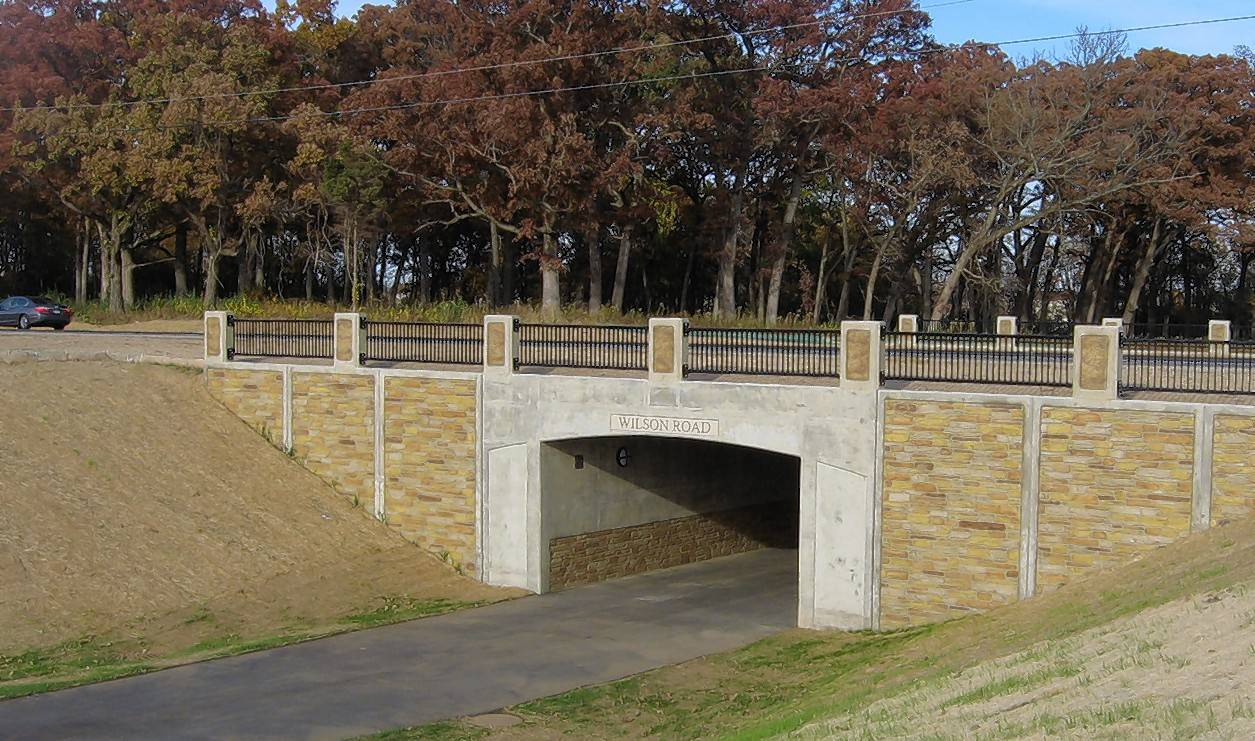 An underpass opened last fall so Millennium Trail riders in Lake County could avoid crossing Wilson Road near Round Lake. The project came with a half-mile of trail.
